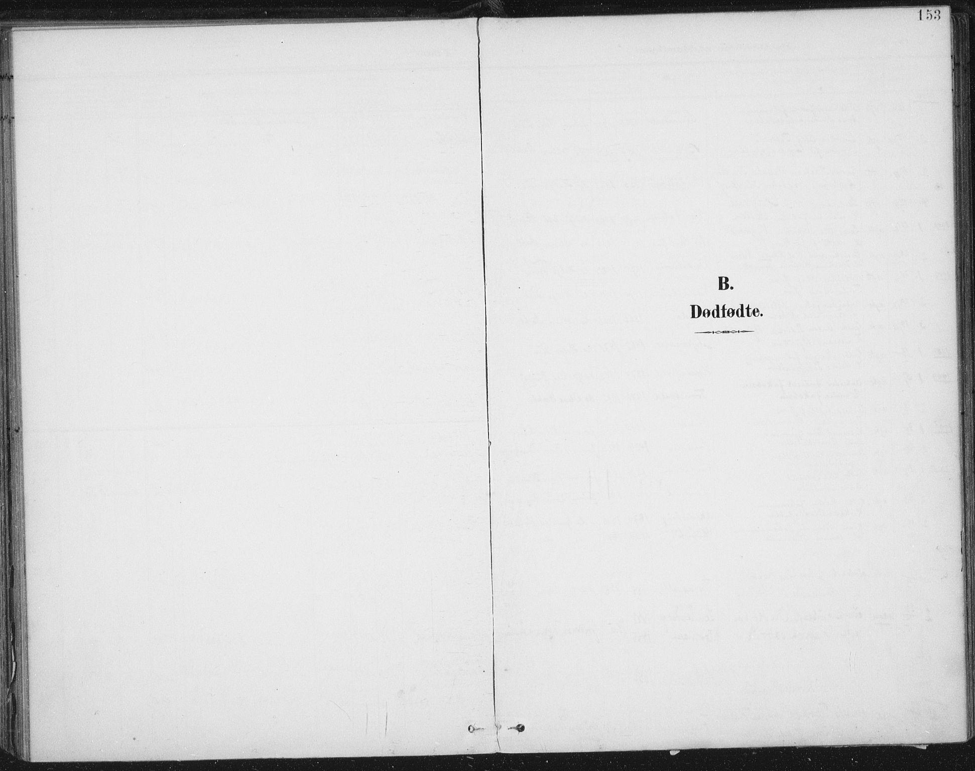 SAT, Ministerialprotokoller, klokkerbøker og fødselsregistre - Nord-Trøndelag, 723/L0246: Ministerialbok nr. 723A15, 1900-1917, s. 153