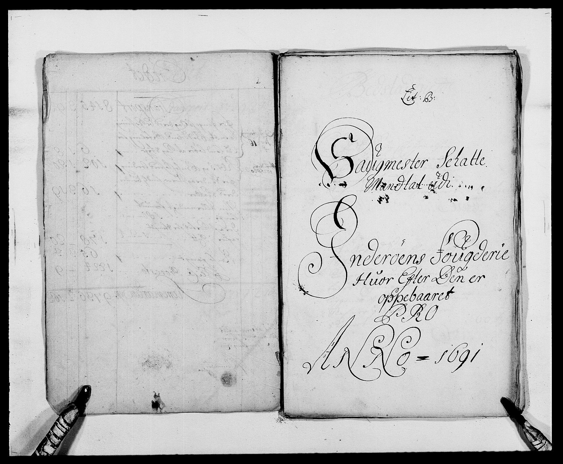 RA, Rentekammeret inntil 1814, Reviderte regnskaper, Fogderegnskap, R63/L4307: Fogderegnskap Inderøy, 1690-1691, s. 292