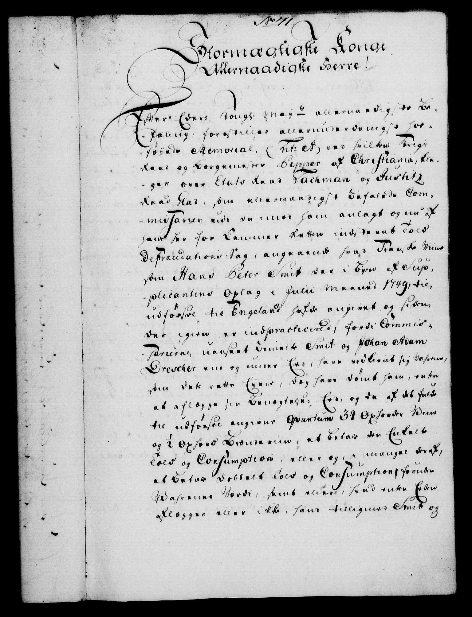 RA, Rentekammeret, Kammerkanselliet, G/Gf/Gfa/L0033: Norsk relasjons- og resolusjonsprotokoll (merket RK 52.33), 1751, s. 374
