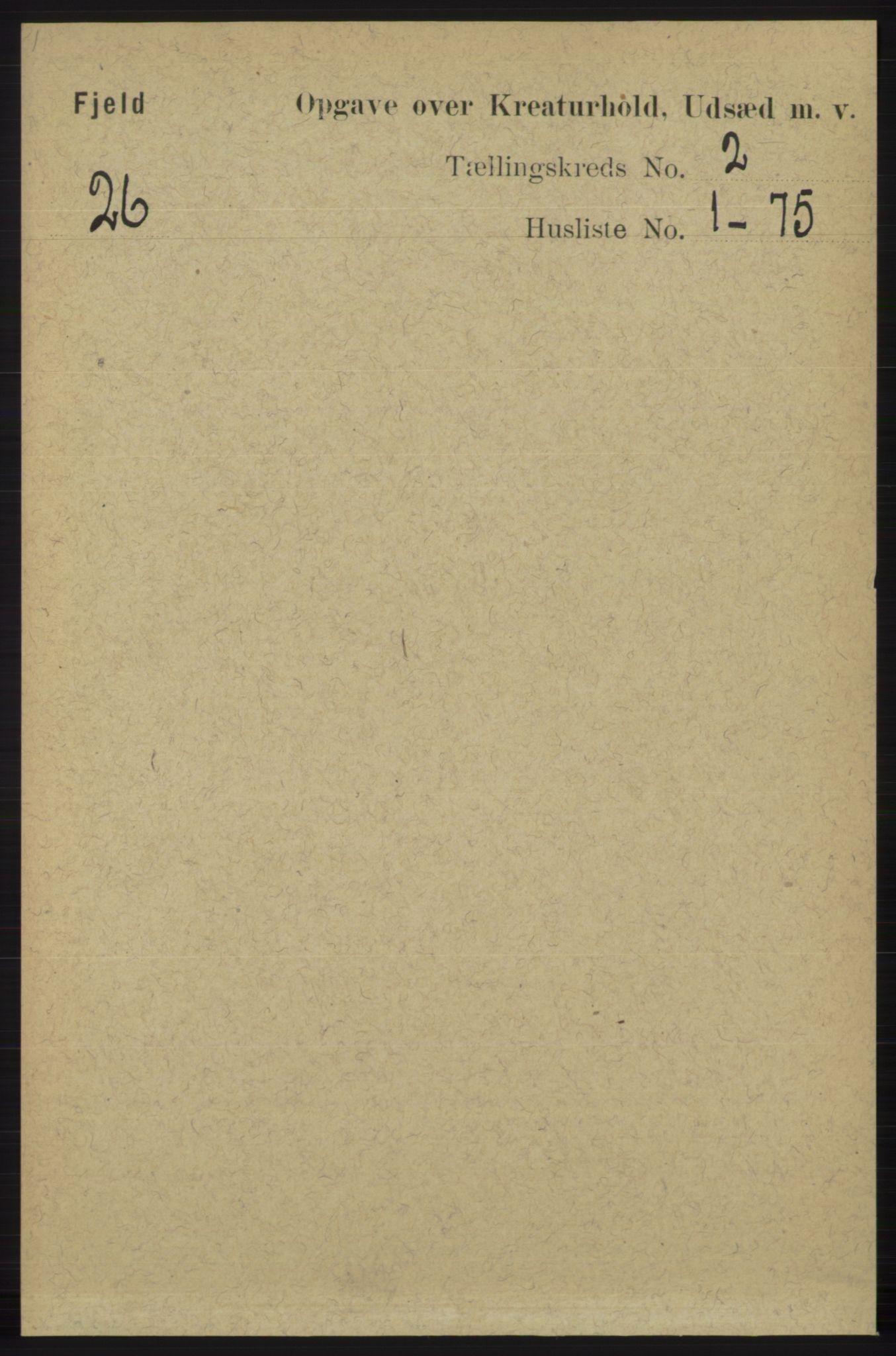 RA, Folketelling 1891 for 1246 Fjell herred, 1891, s. 4019