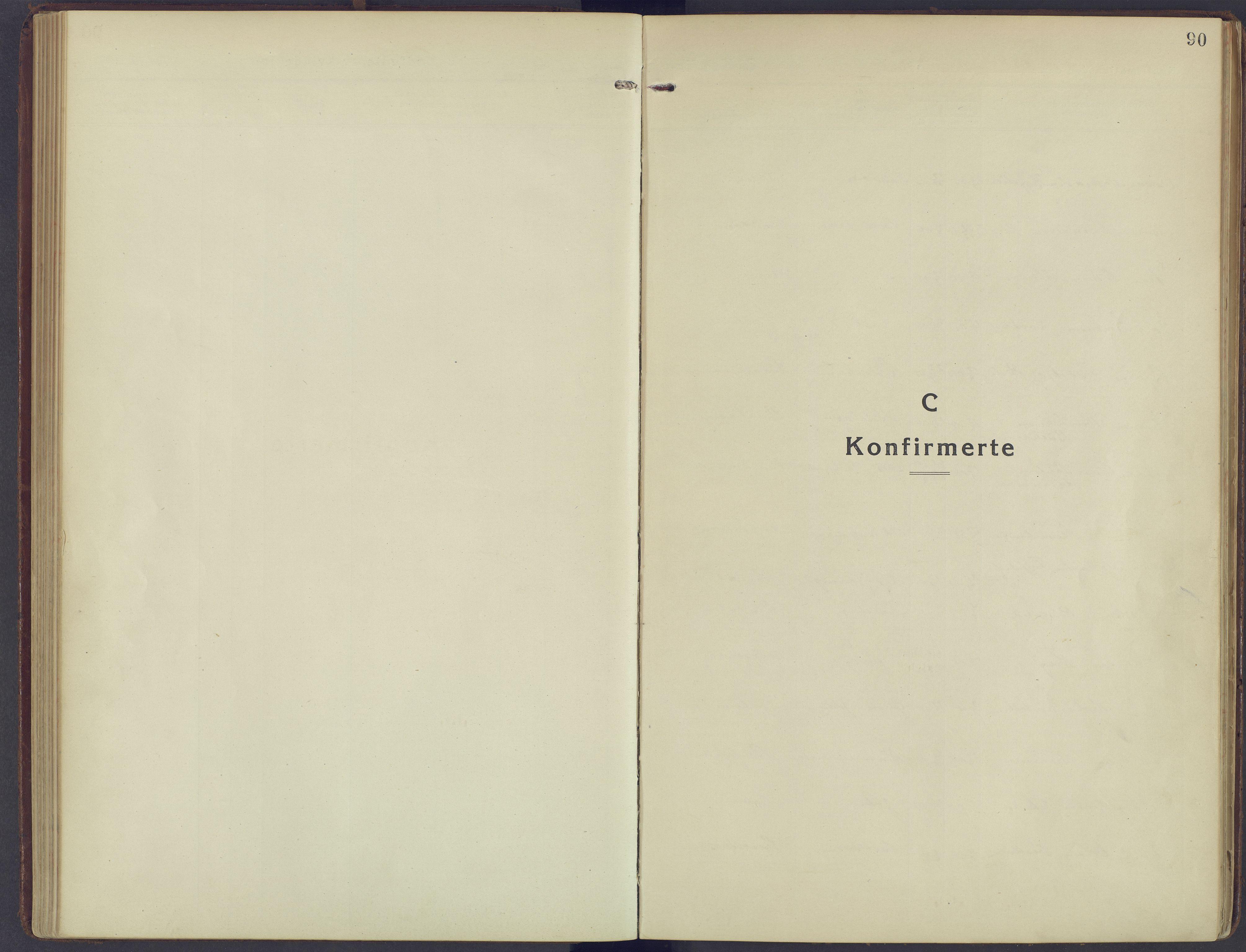 SAH, Sør-Fron prestekontor, H/Ha/Haa/L0005: Ministerialbok nr. 5, 1920-1933, s. 90