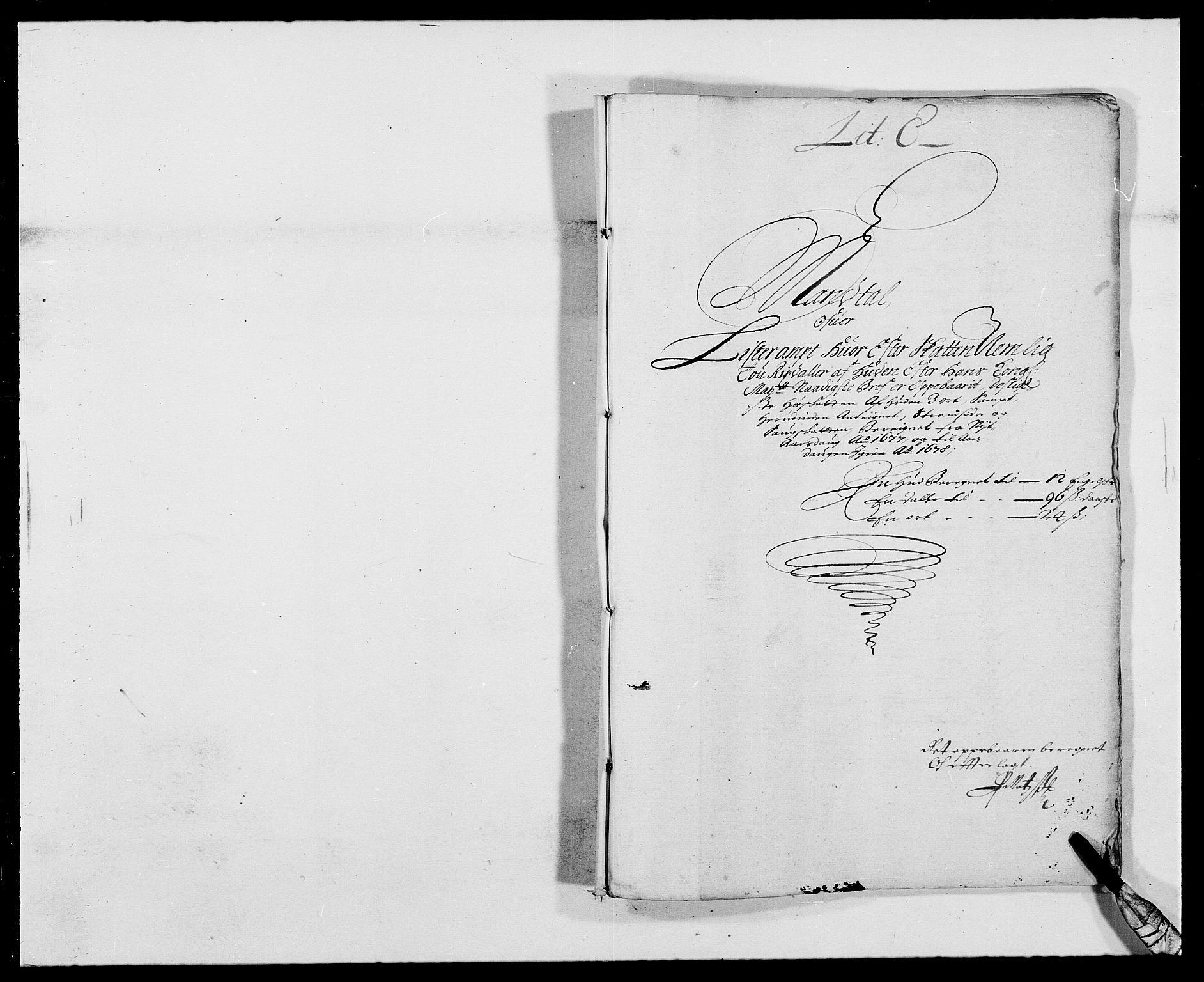 RA, Rentekammeret inntil 1814, Reviderte regnskaper, Fogderegnskap, R41/L2530: Fogderegnskap Lista, 1677-1679, s. 41