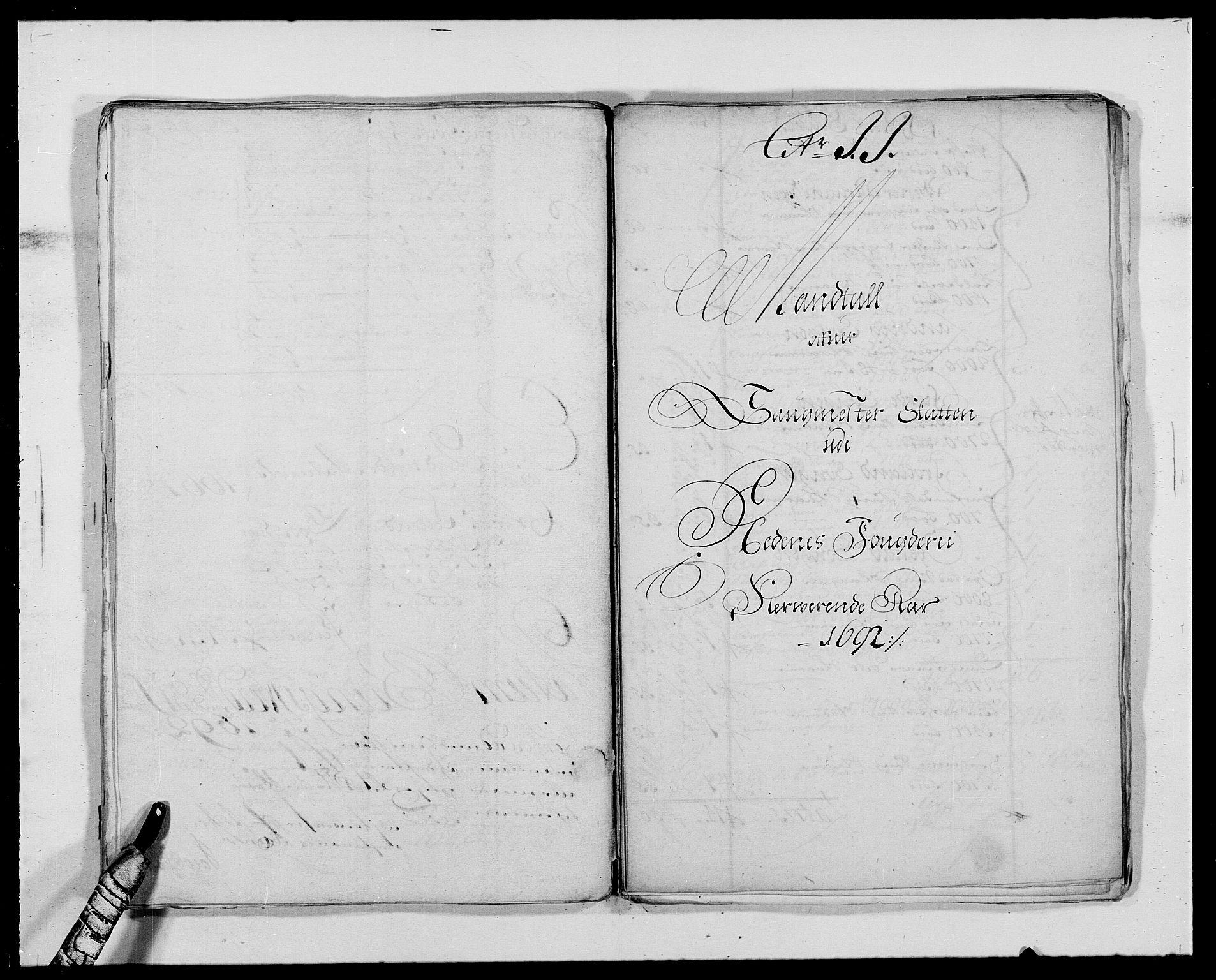 RA, Rentekammeret inntil 1814, Reviderte regnskaper, Fogderegnskap, R39/L2311: Fogderegnskap Nedenes, 1690-1692, s. 226