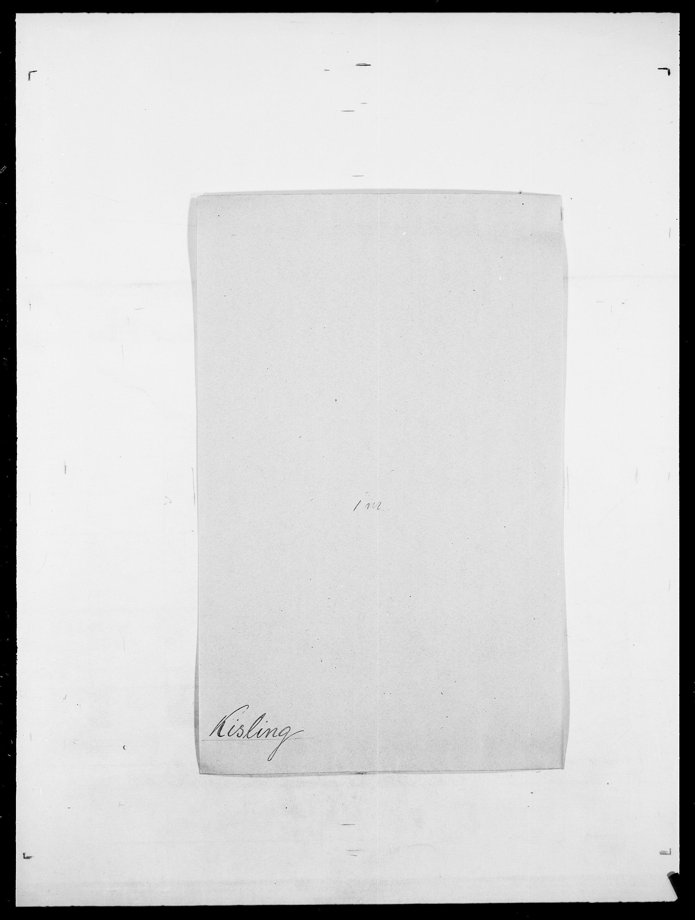 SAO, Delgobe, Charles Antoine - samling, D/Da/L0020: Irgens - Kjøsterud, s. 671