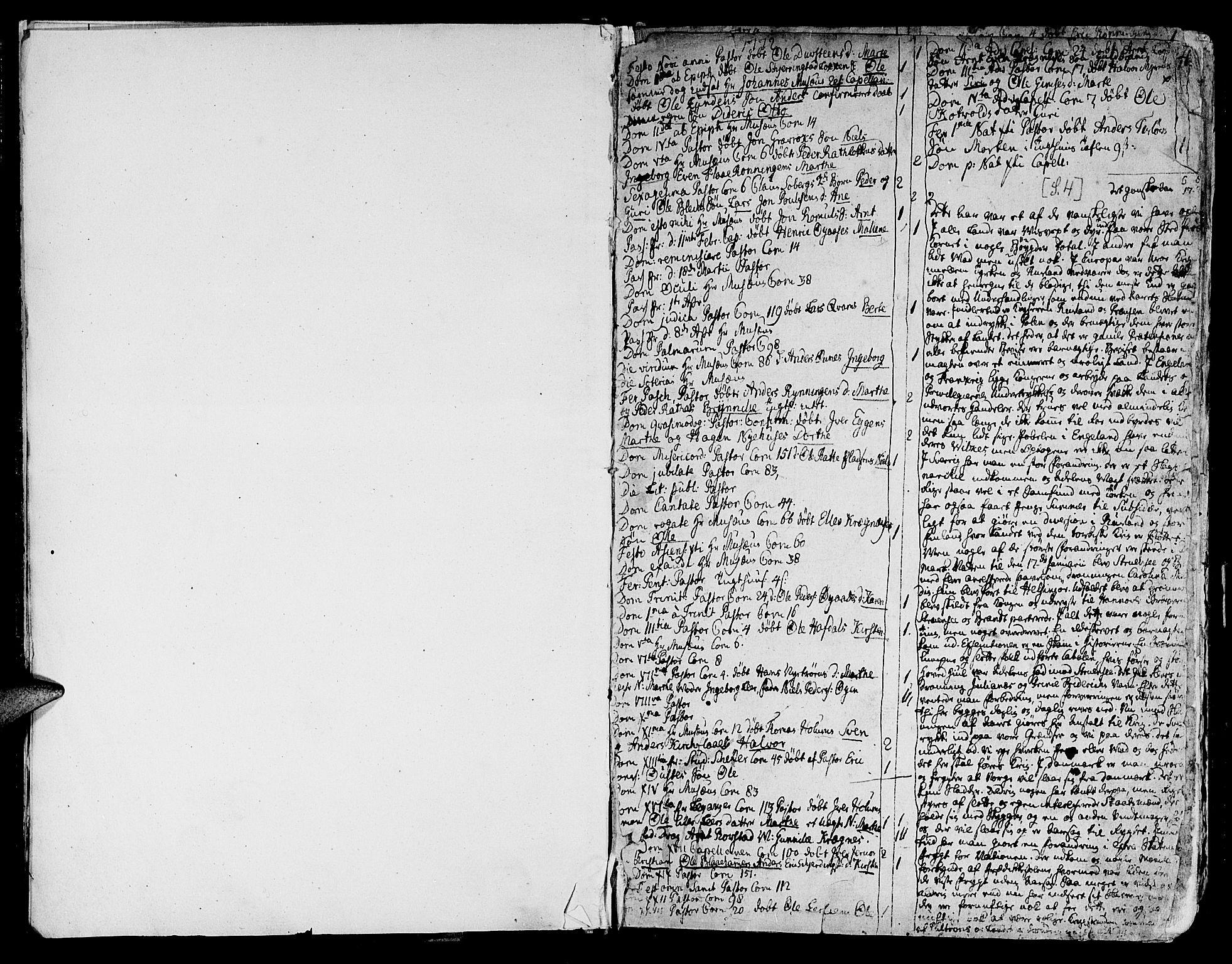 SAT, Ministerialprotokoller, klokkerbøker og fødselsregistre - Sør-Trøndelag, 691/L1061: Ministerialbok nr. 691A02 /1, 1768-1815, s. 4