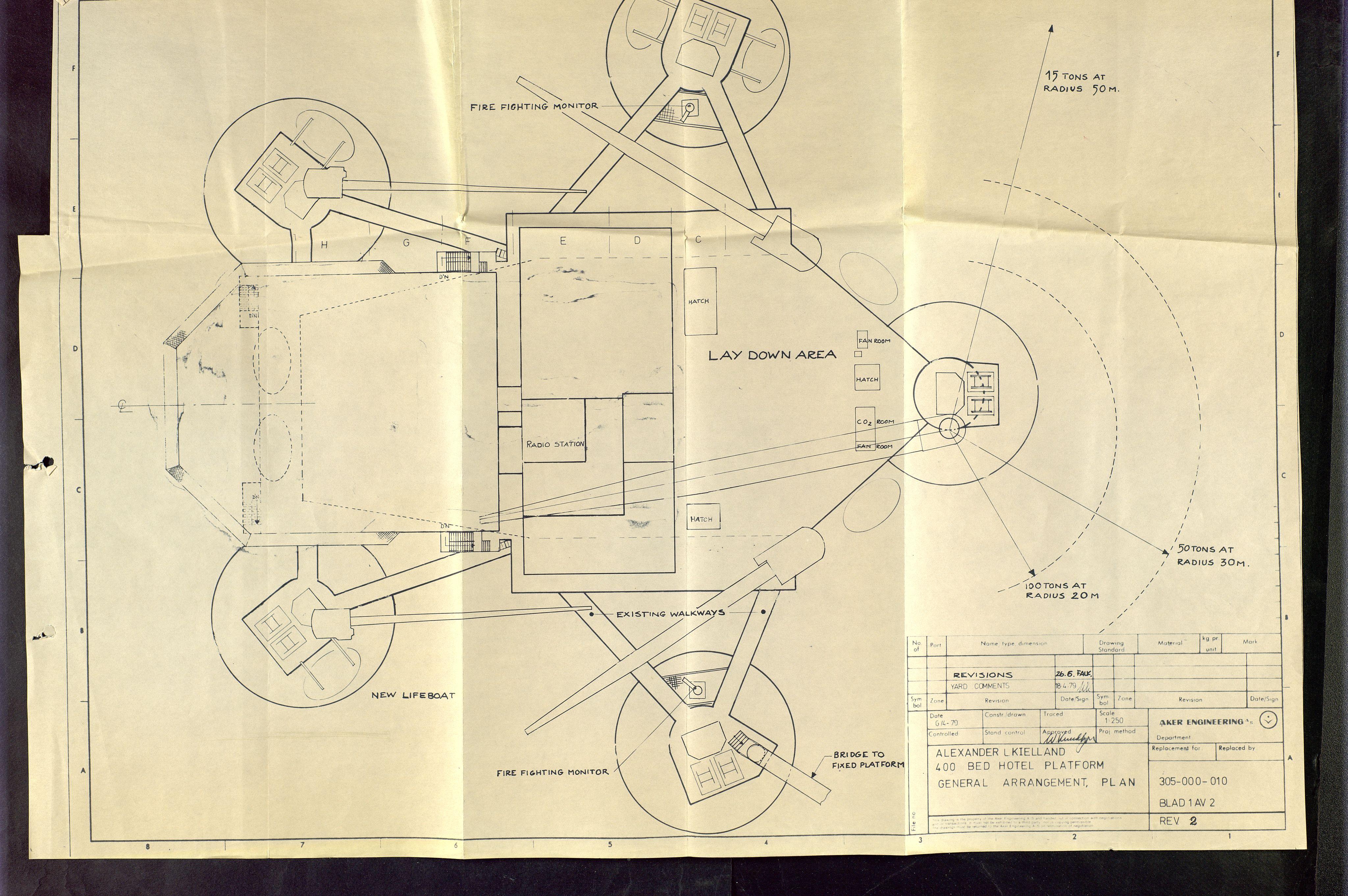 SAST, Pa 1503 - Stavanger Drilling AS, E/Eb/Eba/L0001: Sak og korrespondanse, 1974-1980