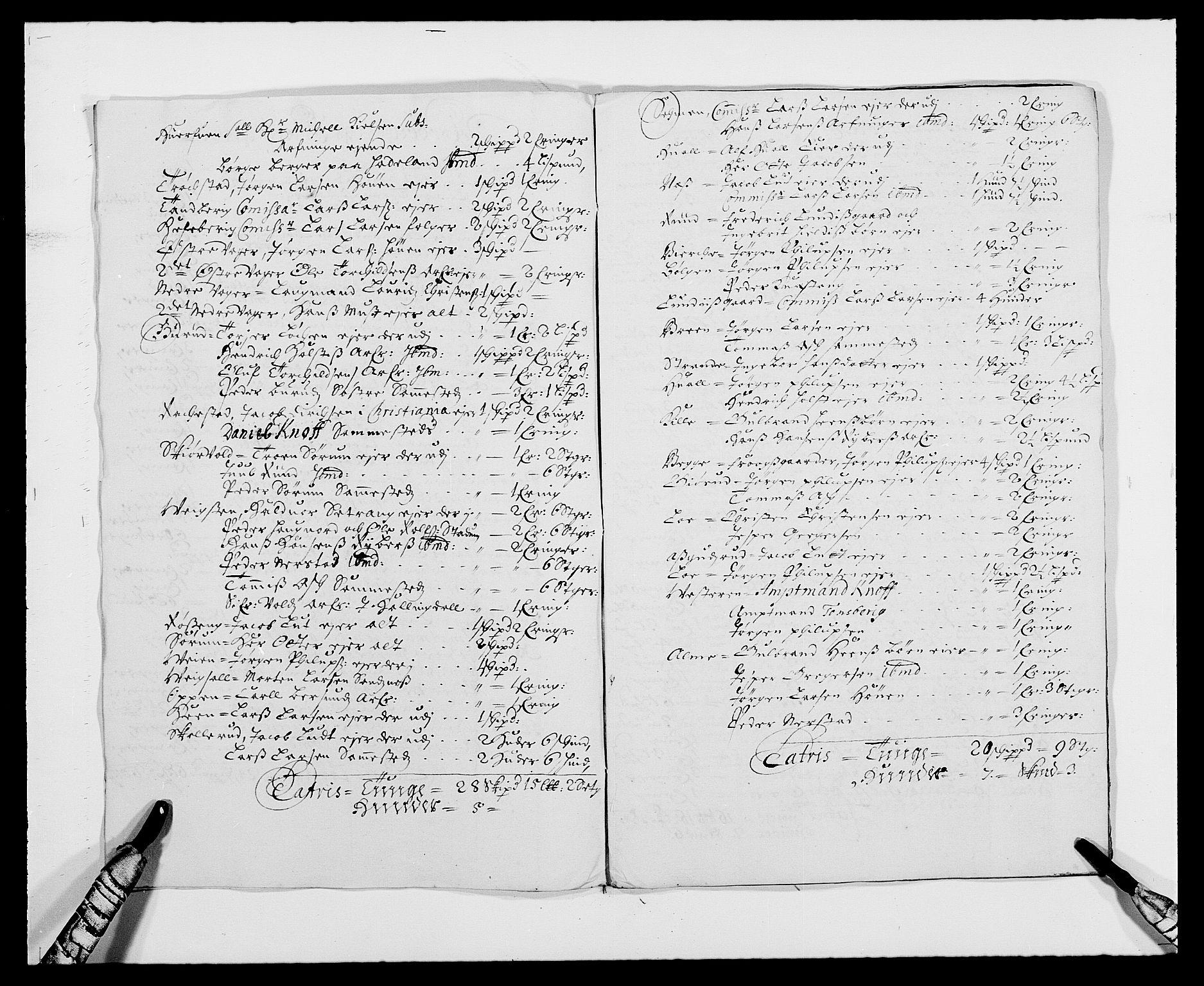 RA, Rentekammeret inntil 1814, Reviderte regnskaper, Fogderegnskap, R21/L1445: Fogderegnskap Ringerike og Hallingdal, 1681-1689, s. 357