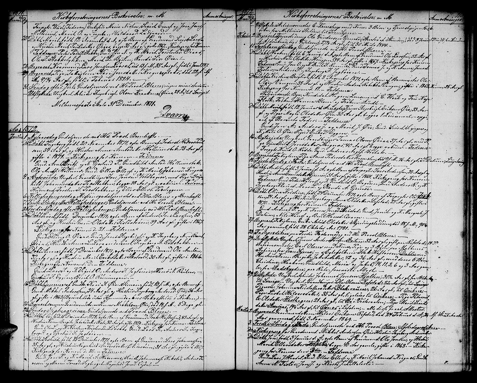 SAT, Ministerialprotokoller, klokkerbøker og fødselsregistre - Sør-Trøndelag, 691/L1093: Klokkerbok nr. 691C04, 1852-1879, s. 110