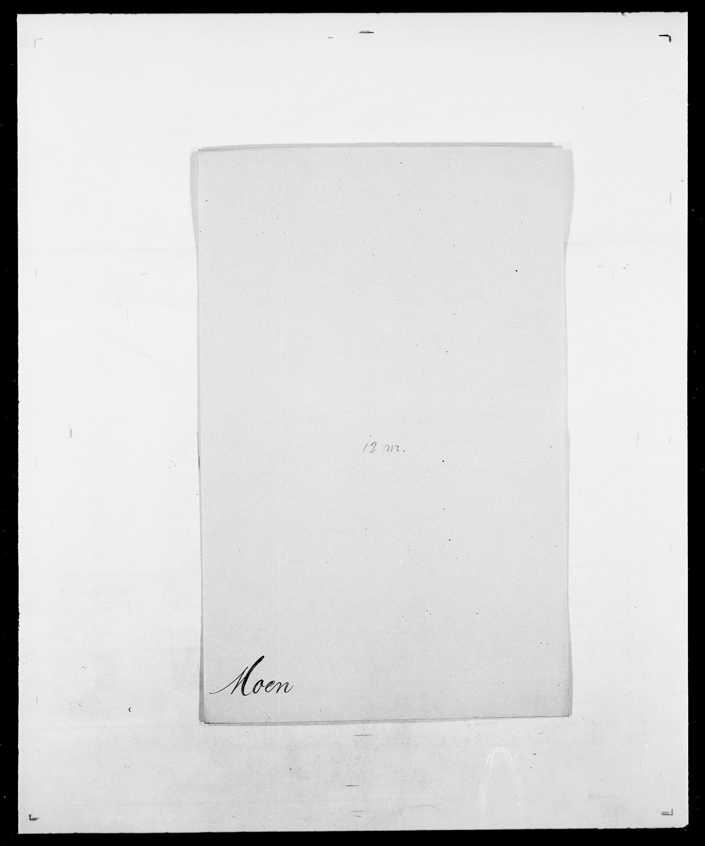 SAO, Delgobe, Charles Antoine - samling, D/Da/L0026: Mechelby - Montoppidan, s. 649