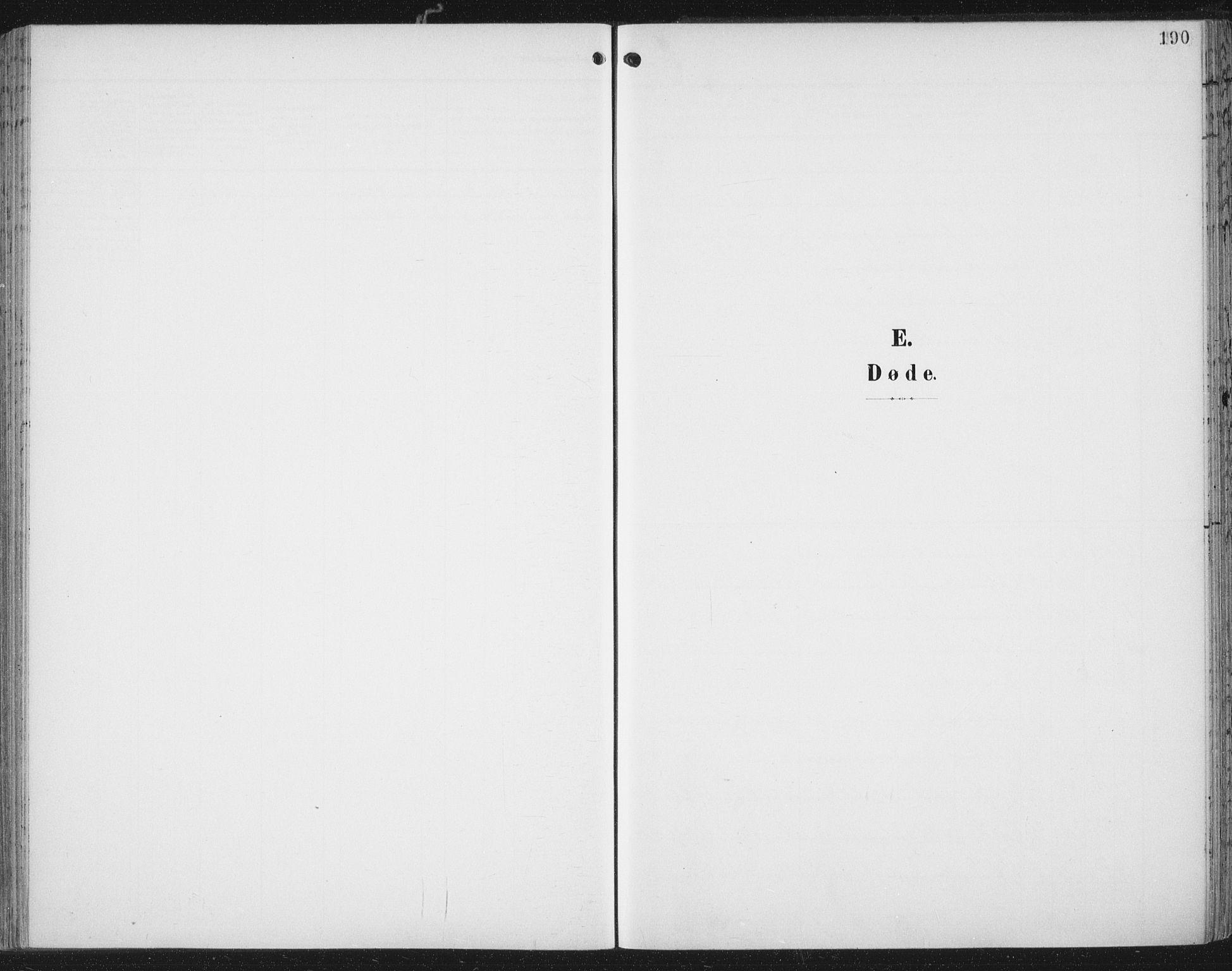 SAT, Ministerialprotokoller, klokkerbøker og fødselsregistre - Nord-Trøndelag, 701/L0011: Ministerialbok nr. 701A11, 1899-1915, s. 190