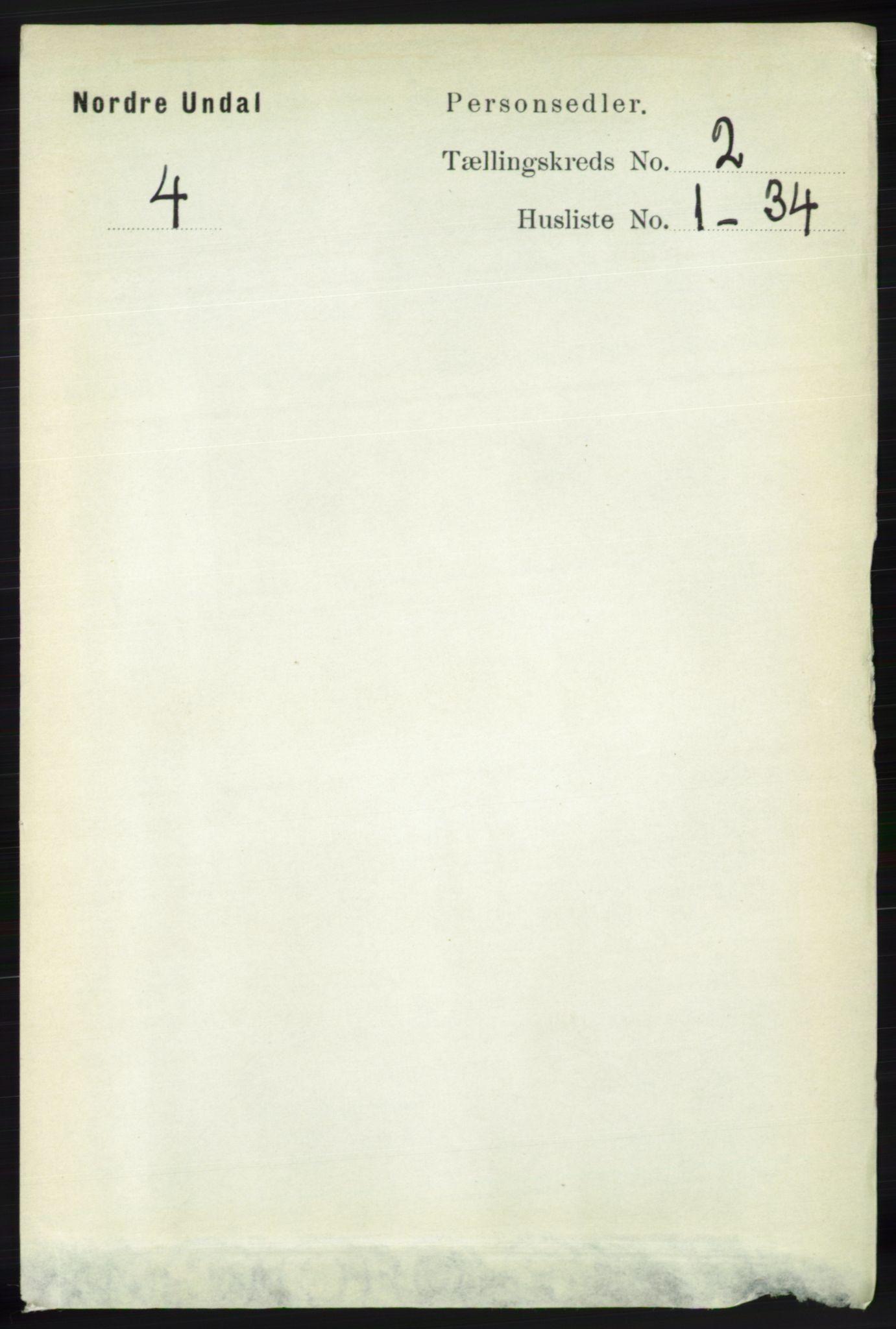 RA, Folketelling 1891 for 1028 Nord-Audnedal herred, 1891, s. 354