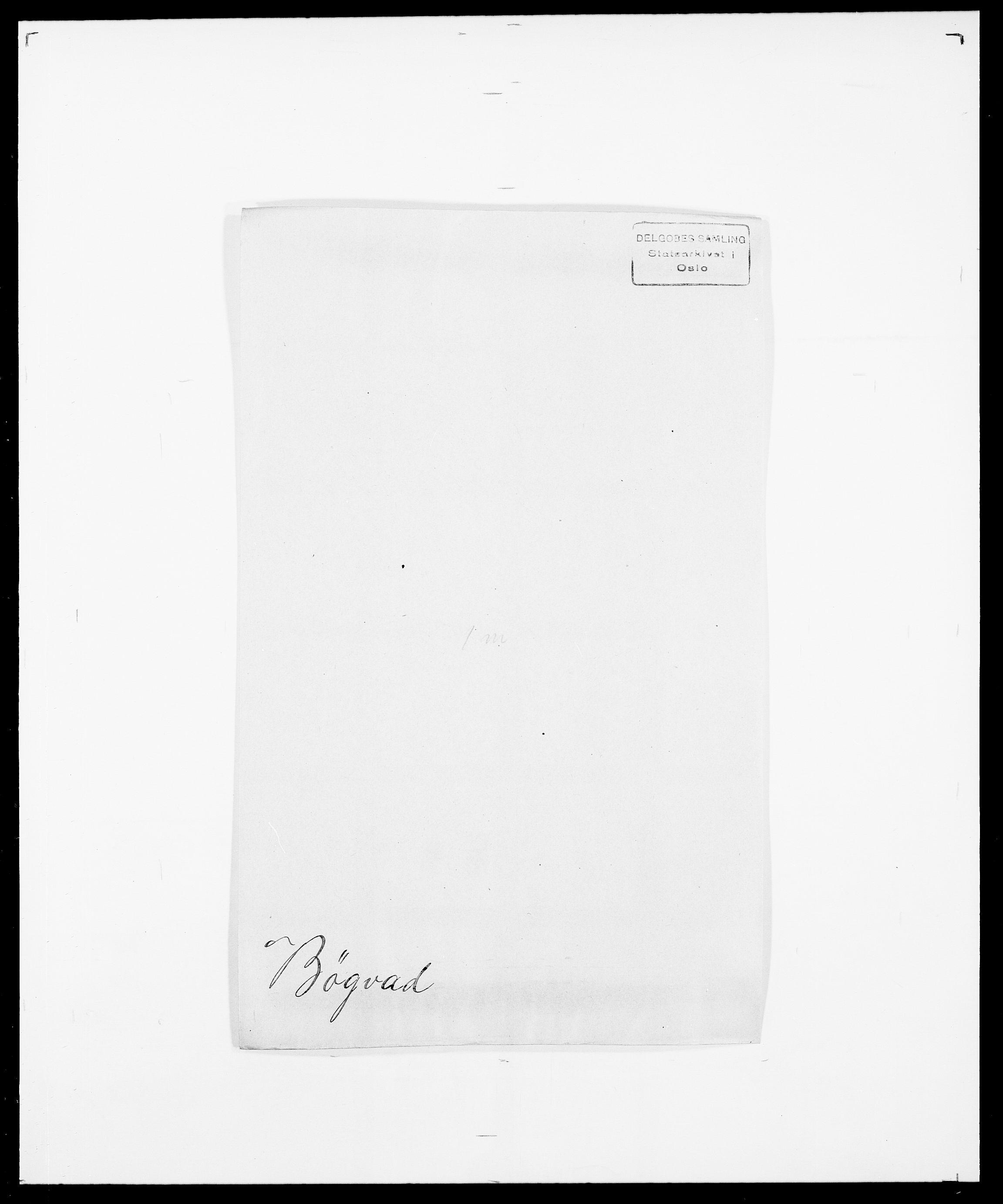 SAO, Delgobe, Charles Antoine - samling, D/Da/L0007: Buaas - Caphengst, s. 717