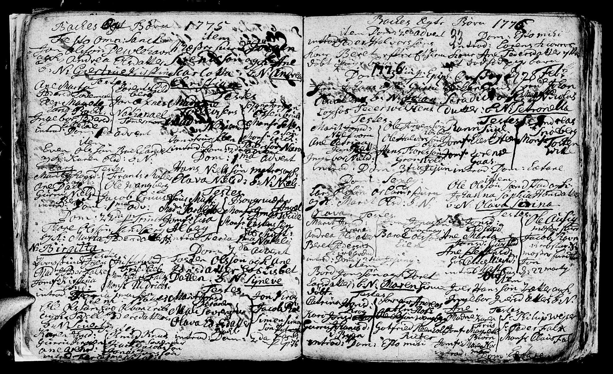 SAT, Ministerialprotokoller, klokkerbøker og fødselsregistre - Sør-Trøndelag, 604/L0218: Klokkerbok nr. 604C01, 1754-1819, s. 33