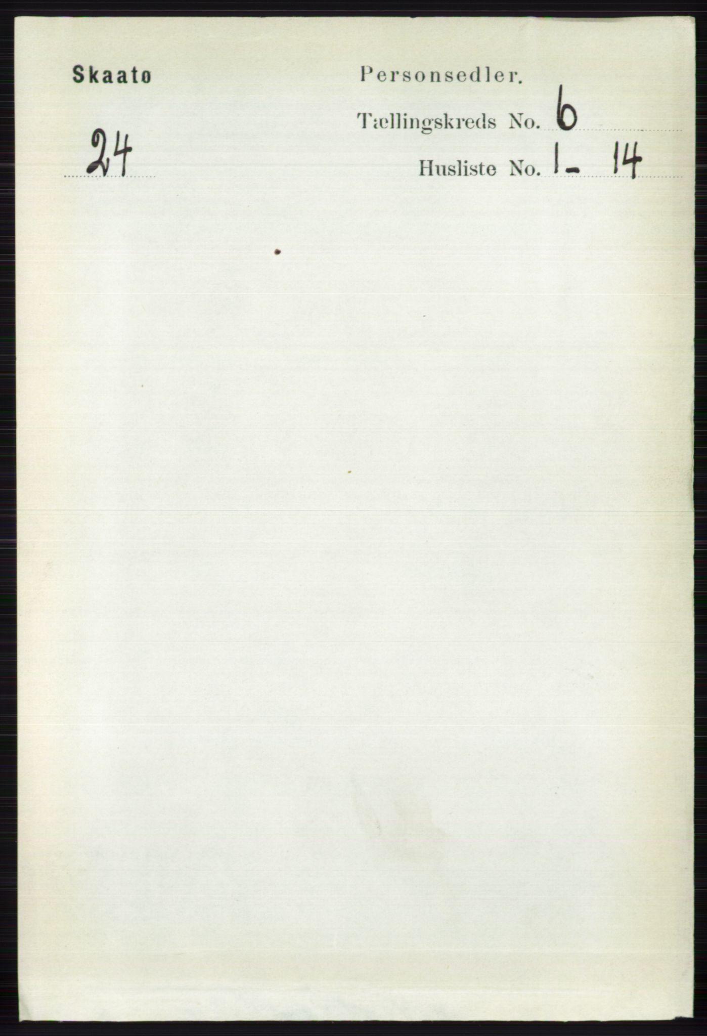 RA, Folketelling 1891 for 0815 Skåtøy herred, 1891, s. 2895