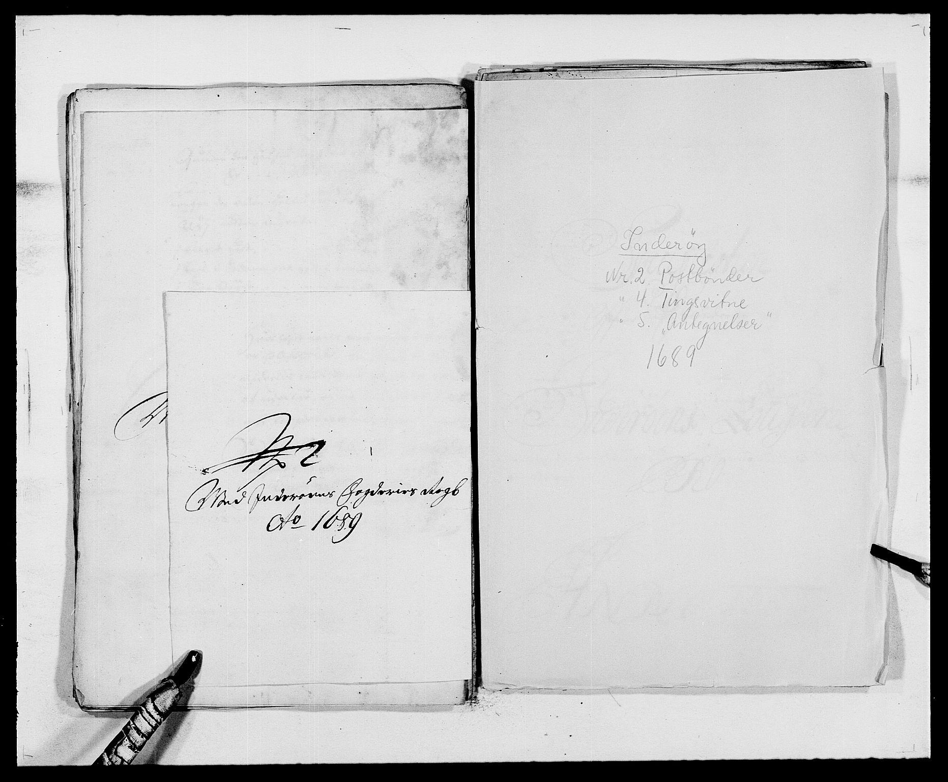 RA, Rentekammeret inntil 1814, Reviderte regnskaper, Fogderegnskap, R63/L4306: Fogderegnskap Inderøy, 1687-1689, s. 509