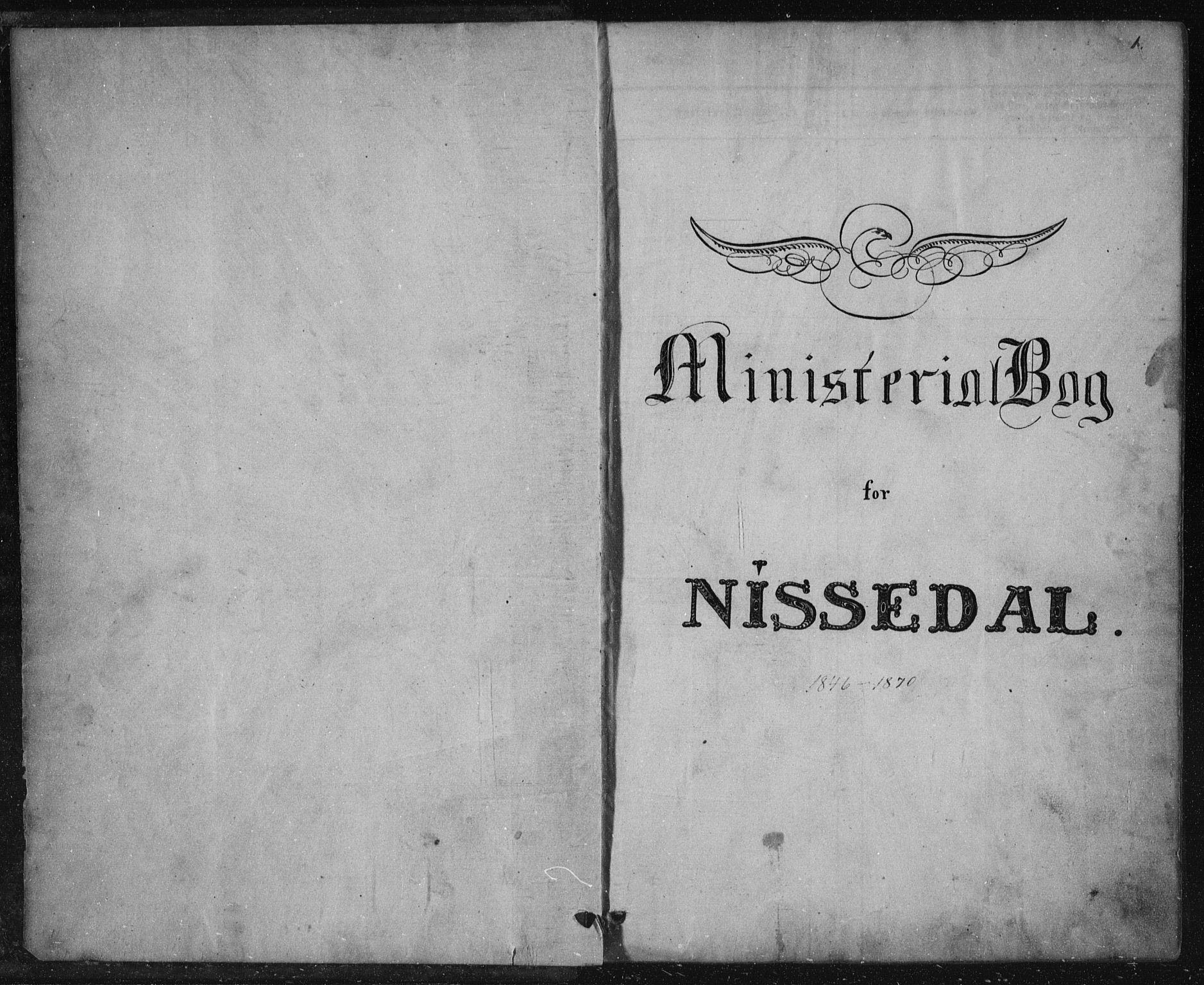 SAKO, Nissedal kirkebøker, F/Fa/L0003: Ministerialbok nr. I 3, 1846-1870, s. 0-1