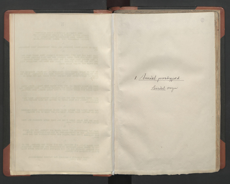 RA, Sogneprestenes manntall 1664-1666, nr. 8: Valdres prosti, 1664-1666, s. 1