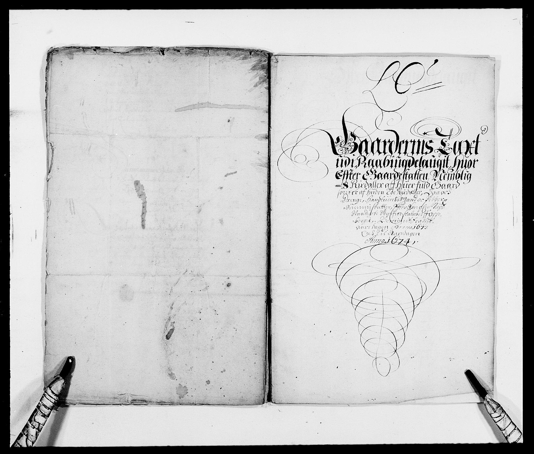 RA, Rentekammeret inntil 1814, Reviderte regnskaper, Fogderegnskap, R40/L2433: Fogderegnskap Råbyggelag, 1671-1674, s. 181