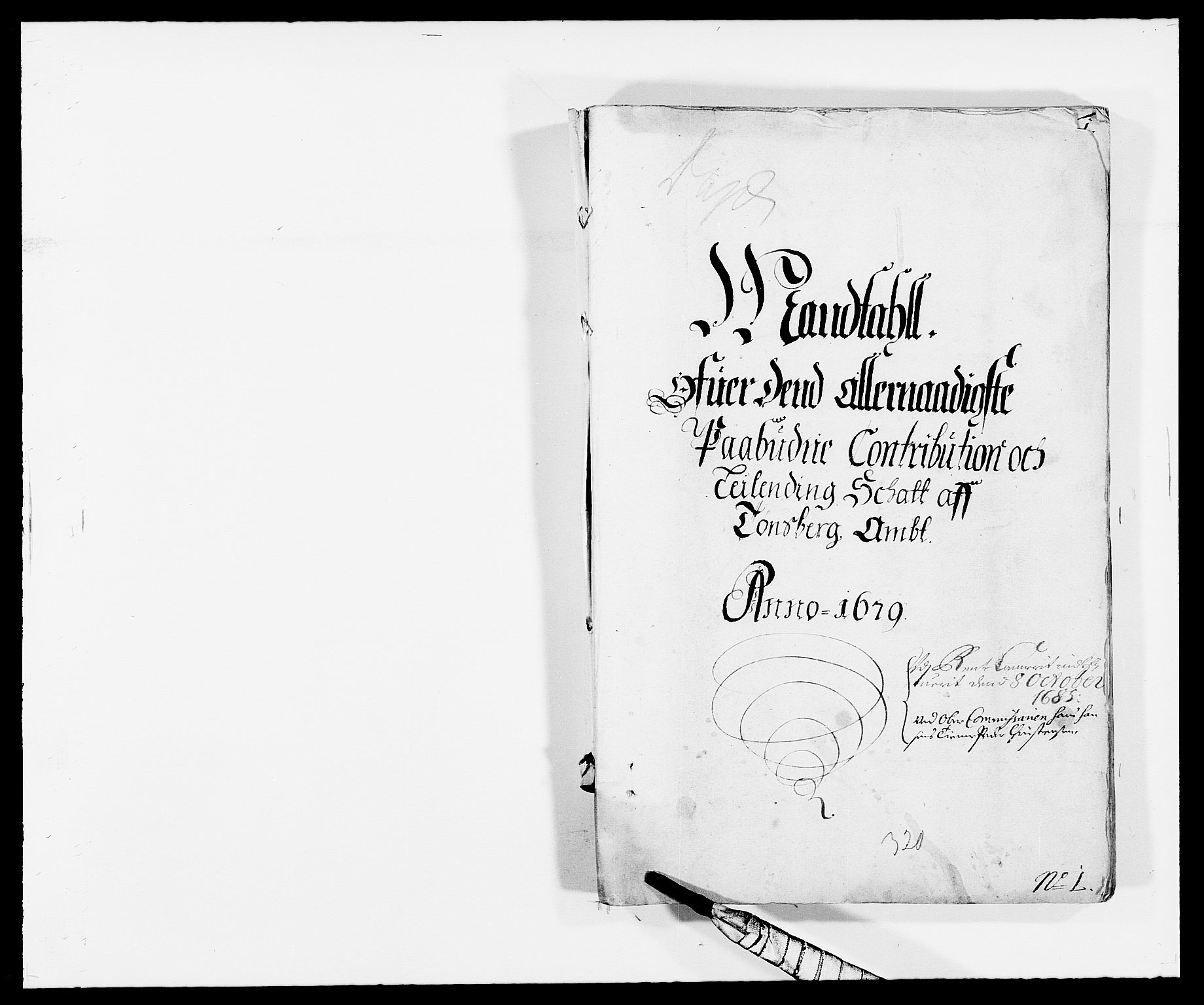 RA, Rentekammeret inntil 1814, Reviderte regnskaper, Fogderegnskap, R32/L1847: Fogderegnskap Jarlsberg grevskap, 1679-1680, s. 1