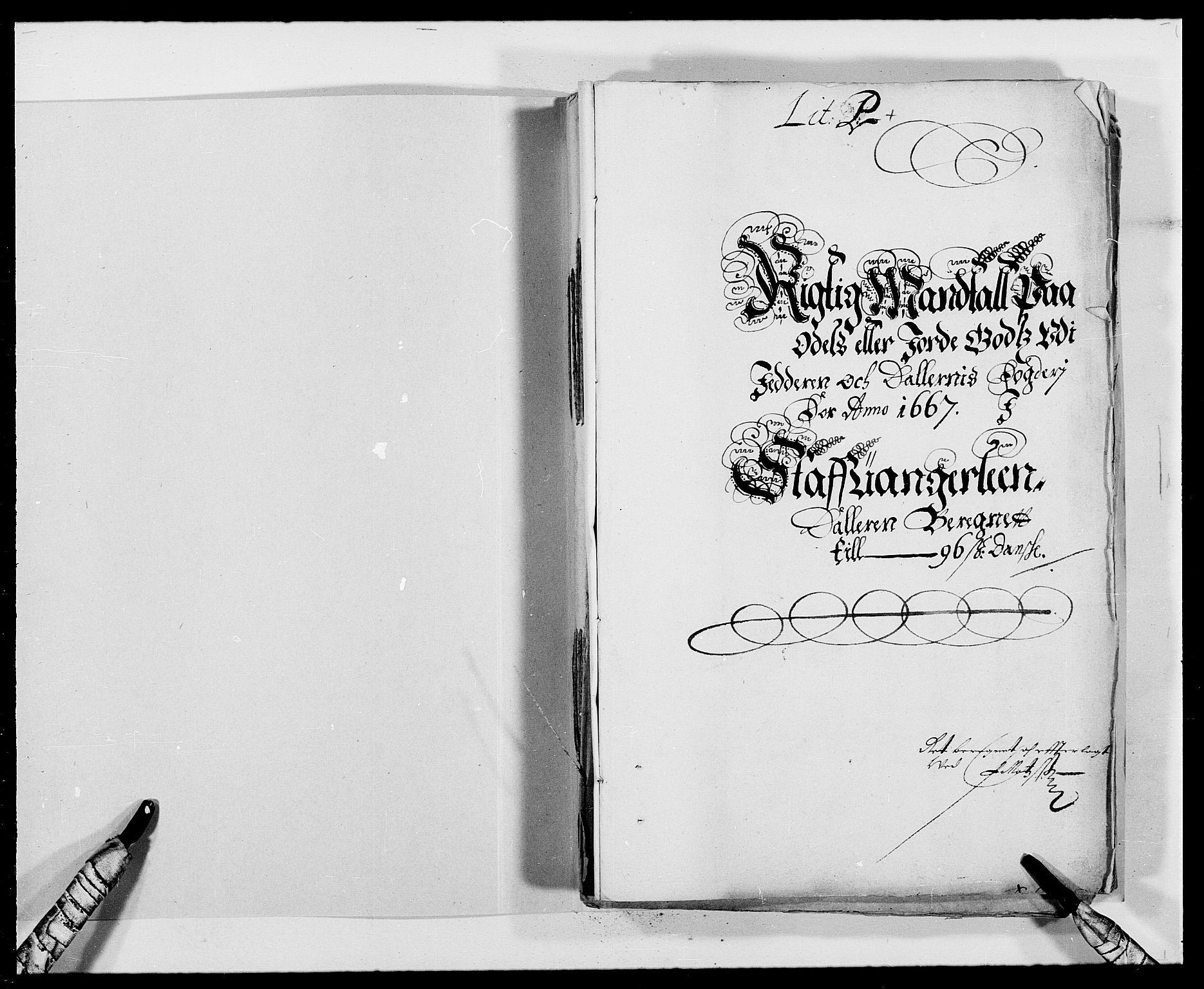 RA, Rentekammeret inntil 1814, Reviderte regnskaper, Fogderegnskap, R46/L2710: Fogderegnskap Jæren og Dalane, 1667, s. 144