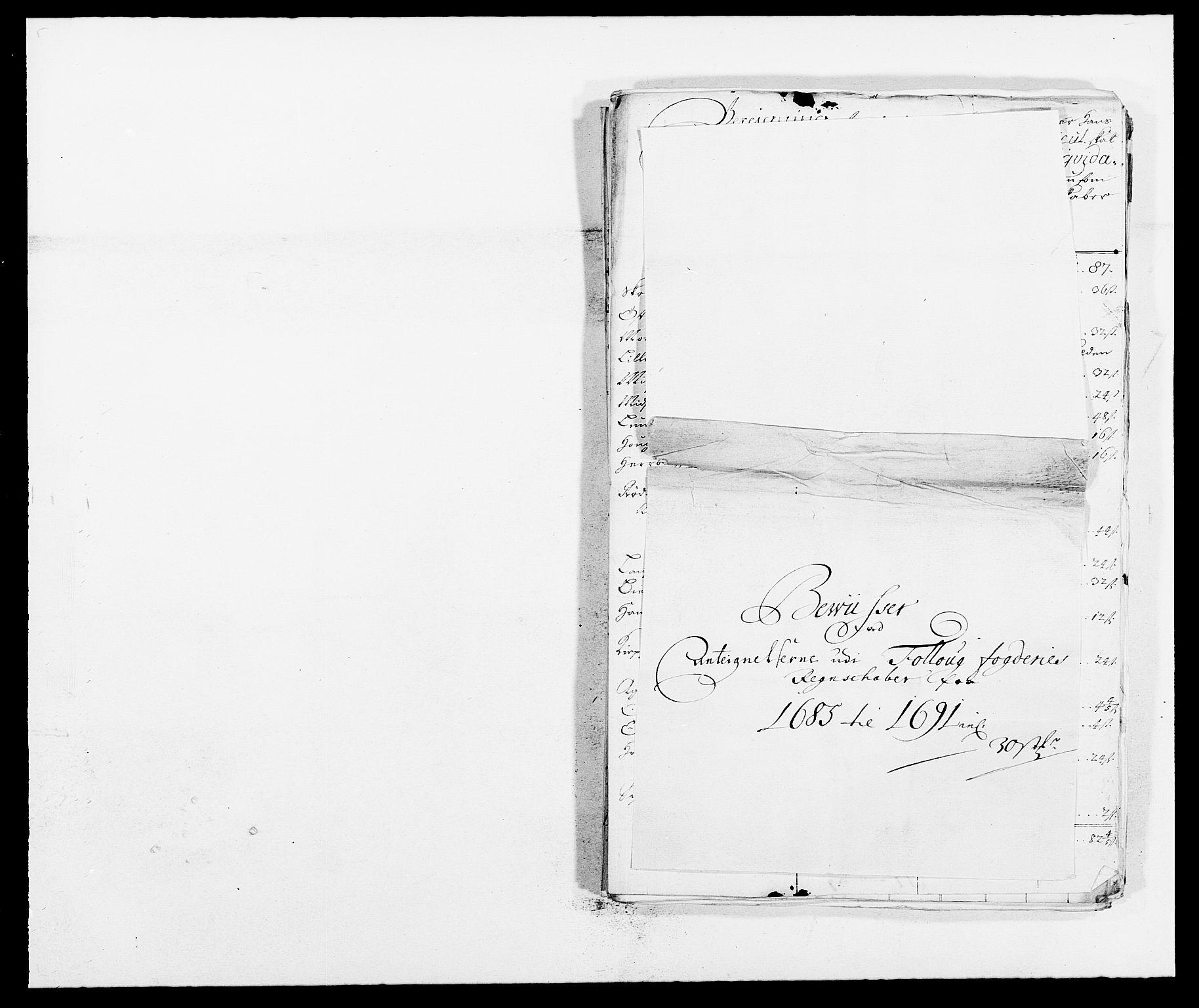 RA, Rentekammeret inntil 1814, Reviderte regnskaper, Fogderegnskap, R09/L0436: Fogderegnskap Follo, 1685-1691, s. 336