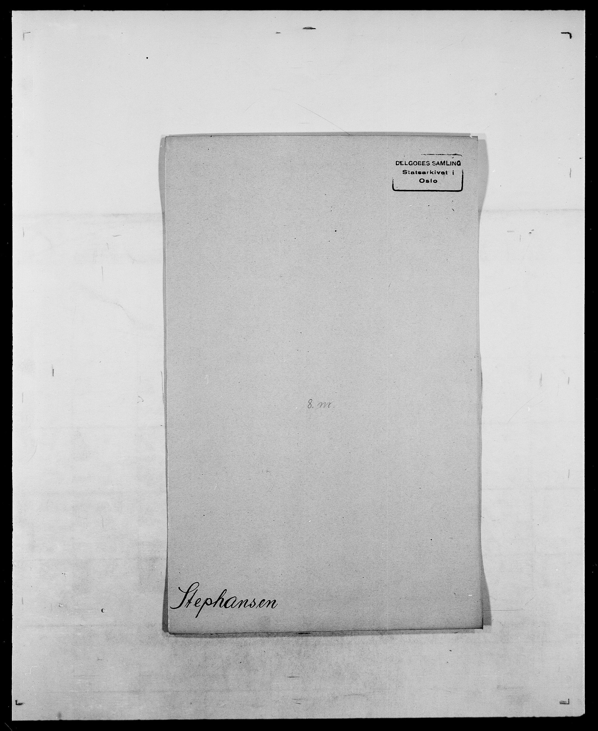 SAO, Delgobe, Charles Antoine - samling, D/Da/L0037: Steen, Sthen, Stein - Svare, Svanige, Svanne, se også Svanning og Schwane, s. 352
