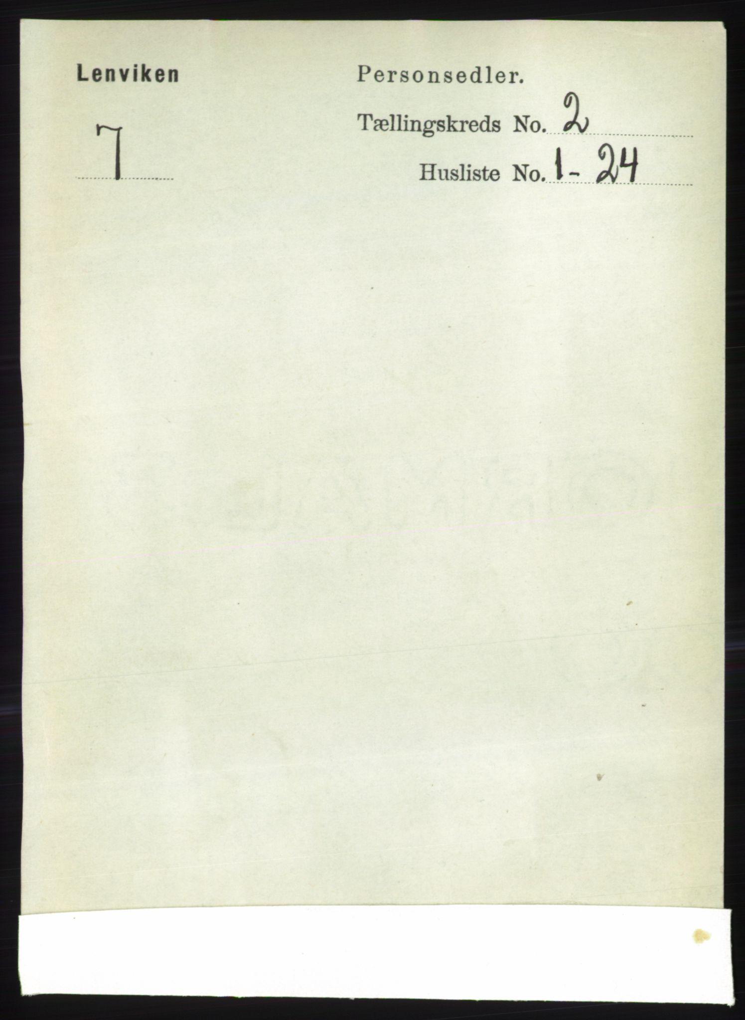 RA, Folketelling 1891 for 1931 Lenvik herred, 1891, s. 777