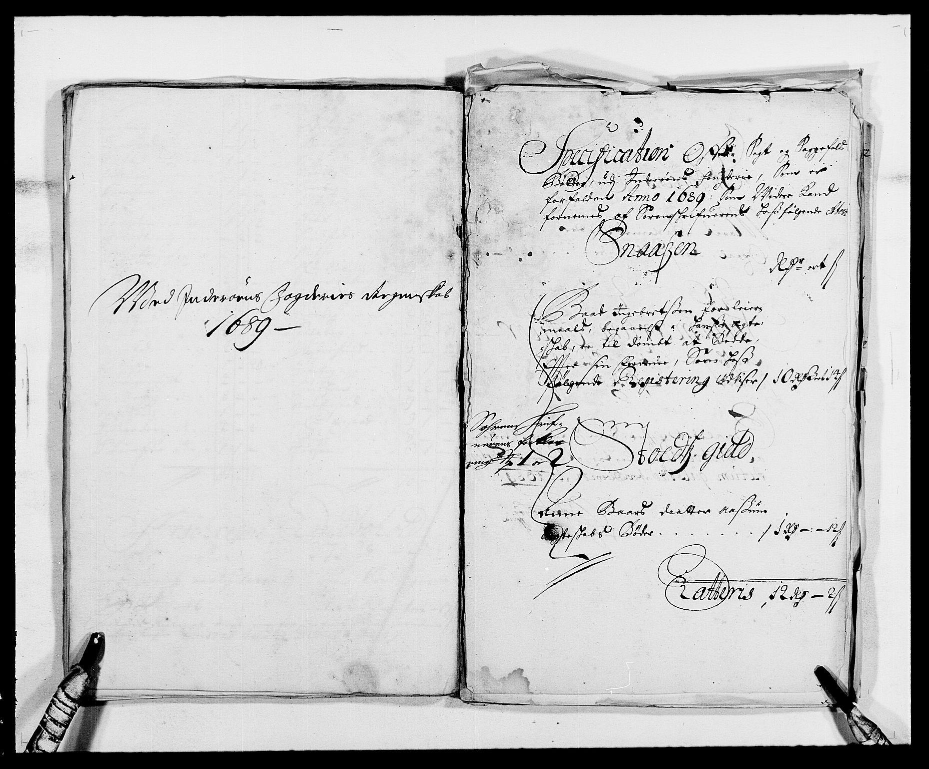 RA, Rentekammeret inntil 1814, Reviderte regnskaper, Fogderegnskap, R63/L4306: Fogderegnskap Inderøy, 1687-1689, s. 480