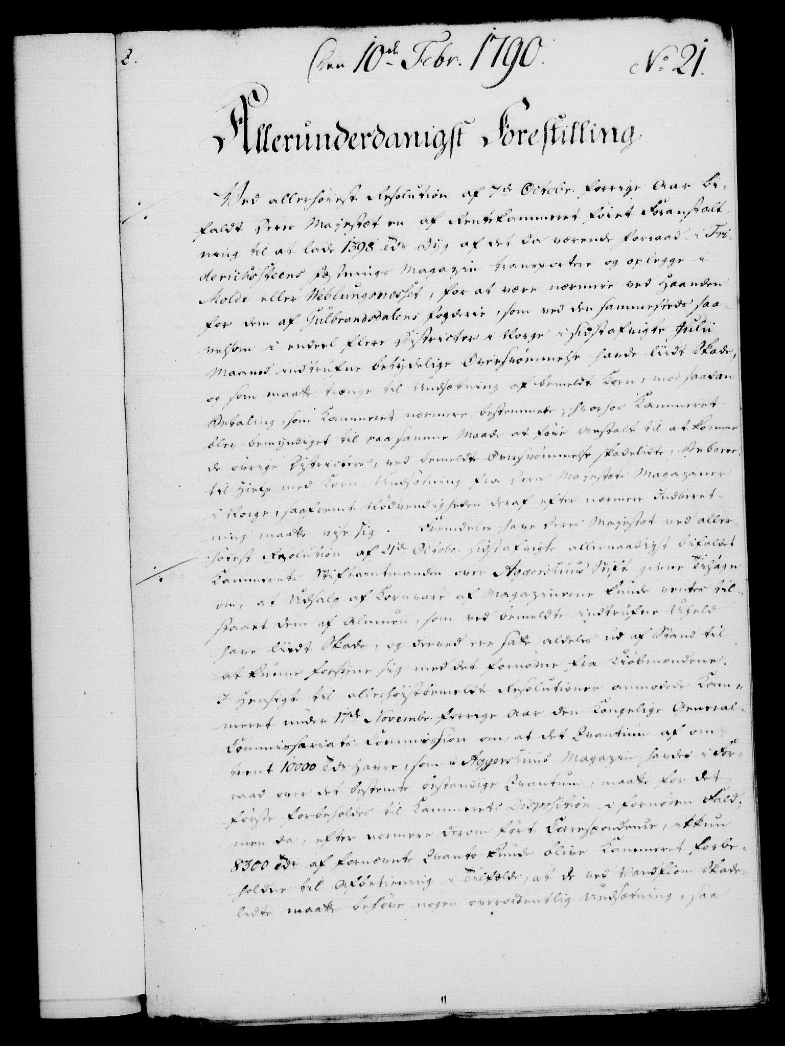 RA, Rentekammeret, Kammerkanselliet, G/Gf/Gfa/L0072: Norsk relasjons- og resolusjonsprotokoll (merket RK 52.72), 1790, s. 121