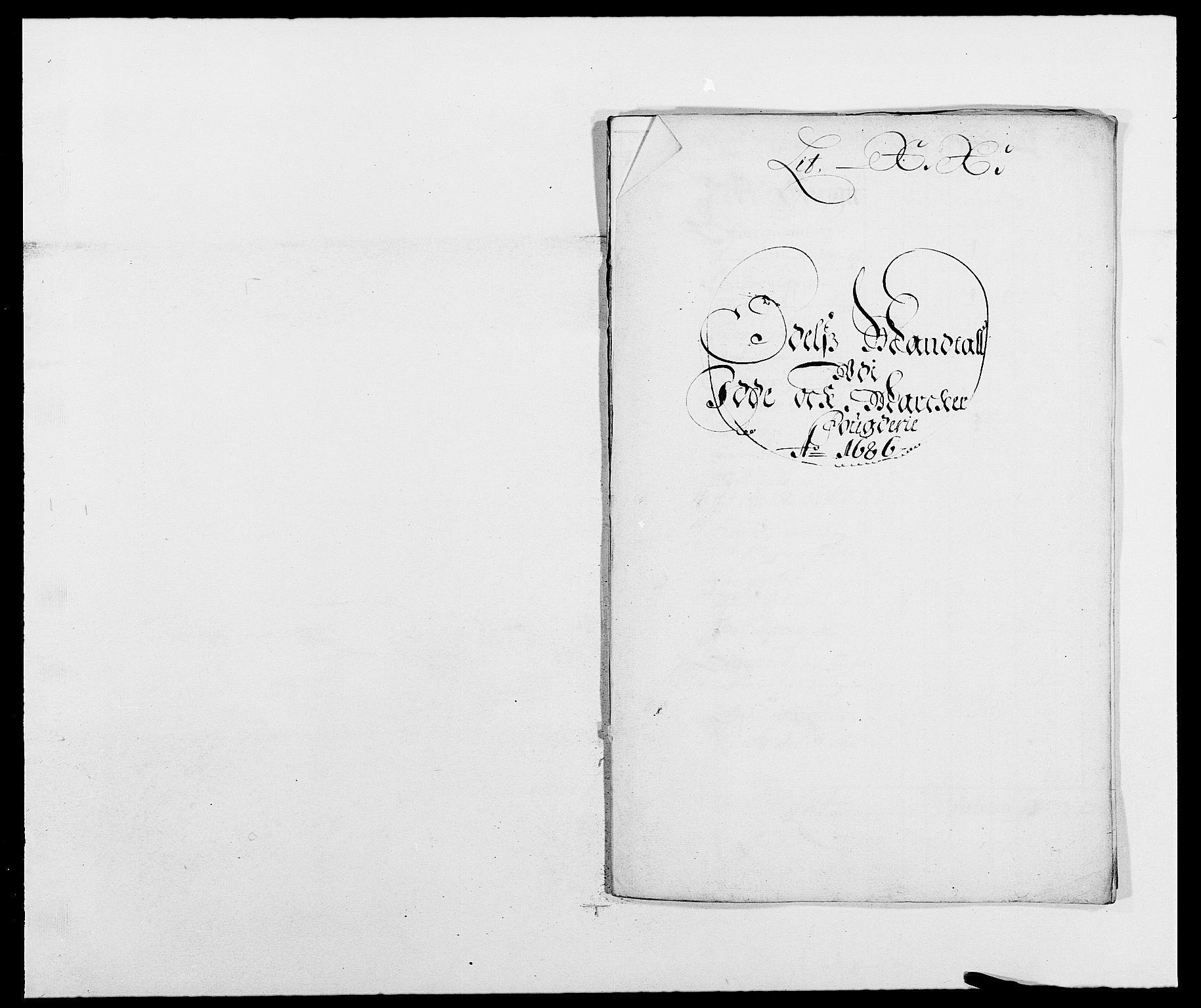 RA, Rentekammeret inntil 1814, Reviderte regnskaper, Fogderegnskap, R01/L0006: Fogderegnskap Idd og Marker, 1685-1686, s. 328
