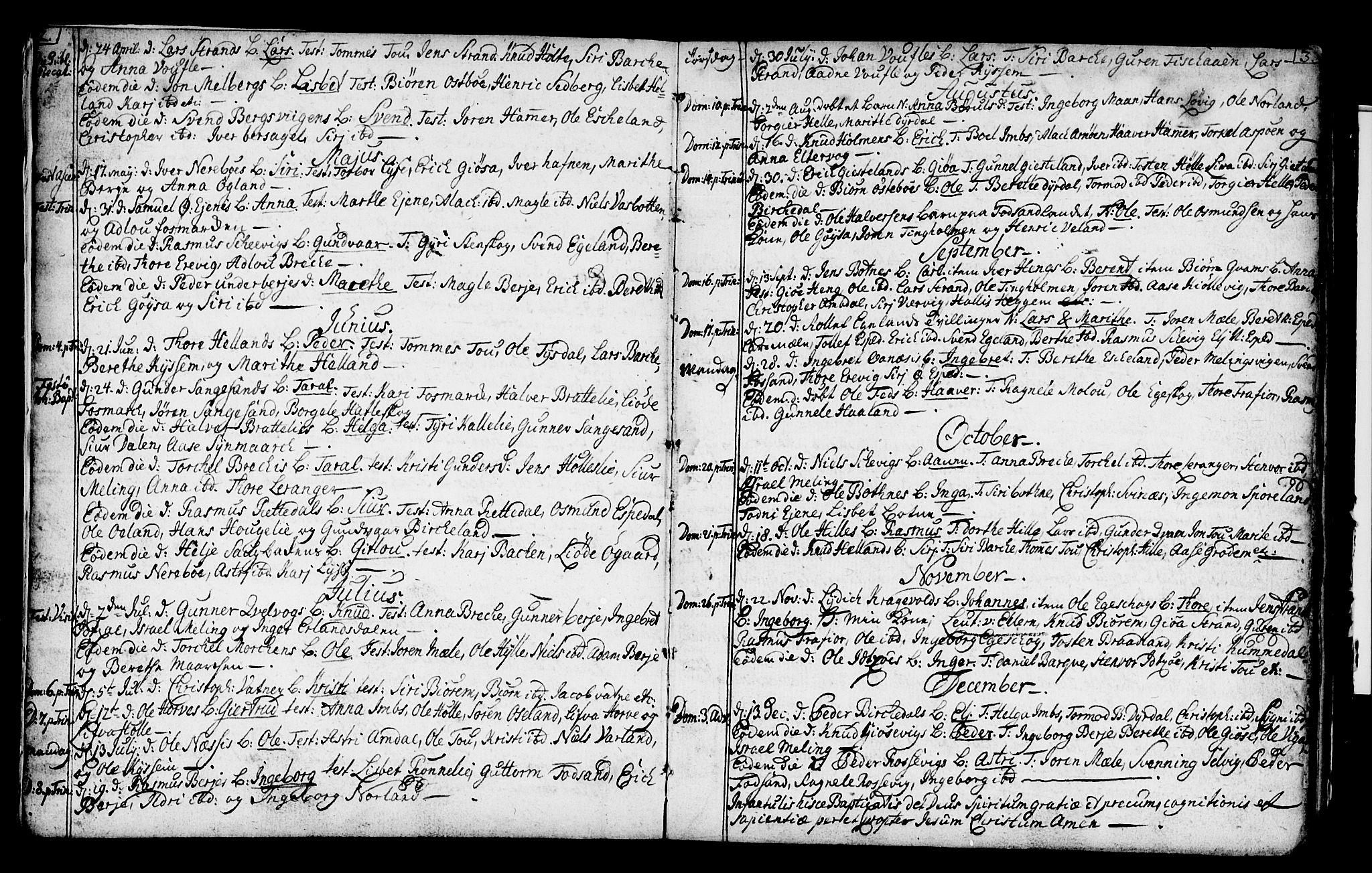 SAST, Strand sokneprestkontor, H/Ha/Haa/L0002: Ministerialbok nr. A 2, 1744-1768, s. 2-3