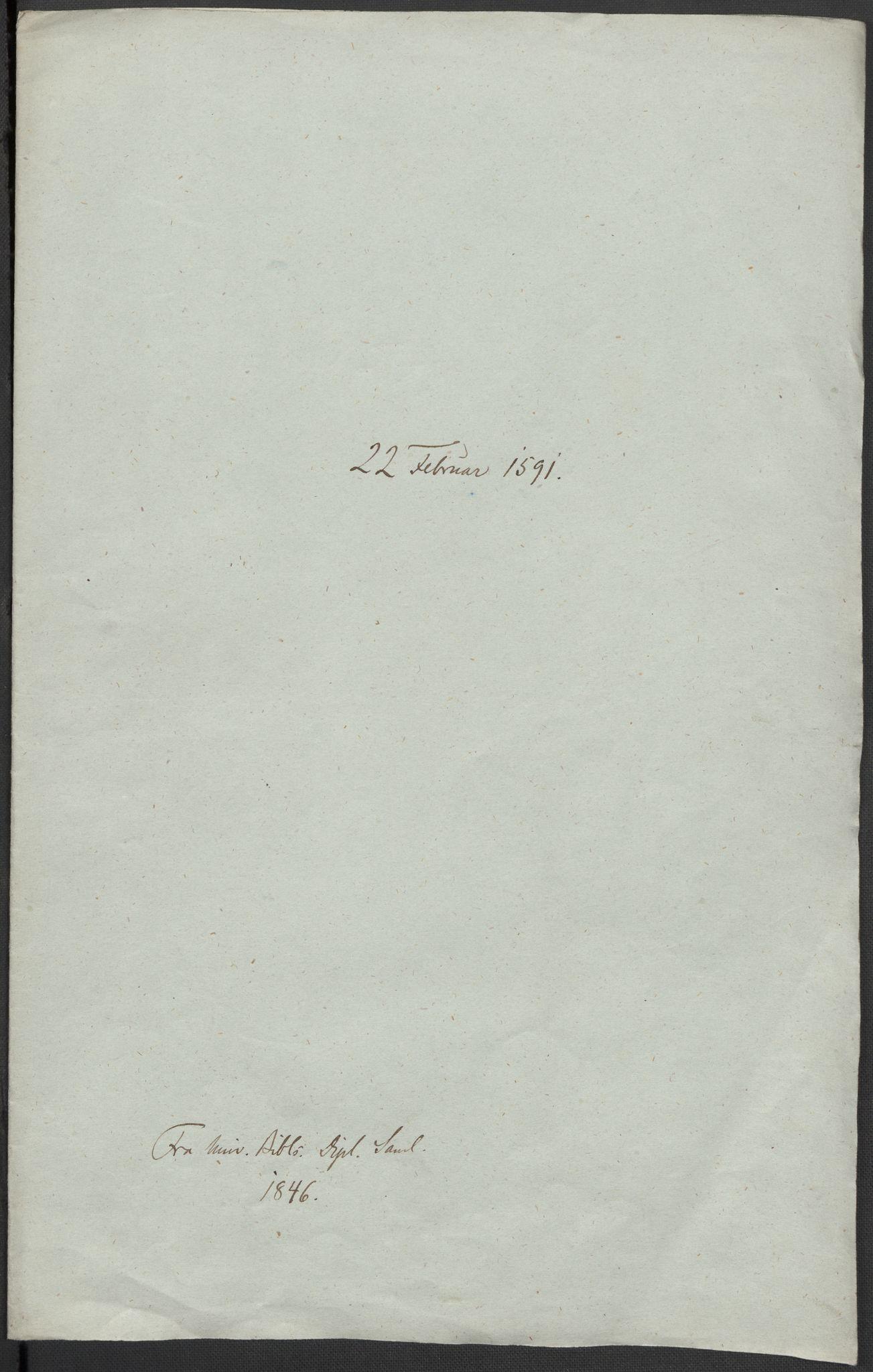 RA, Riksarkivets diplomsamling, F02/L0093: Dokumenter, 1591, s. 37