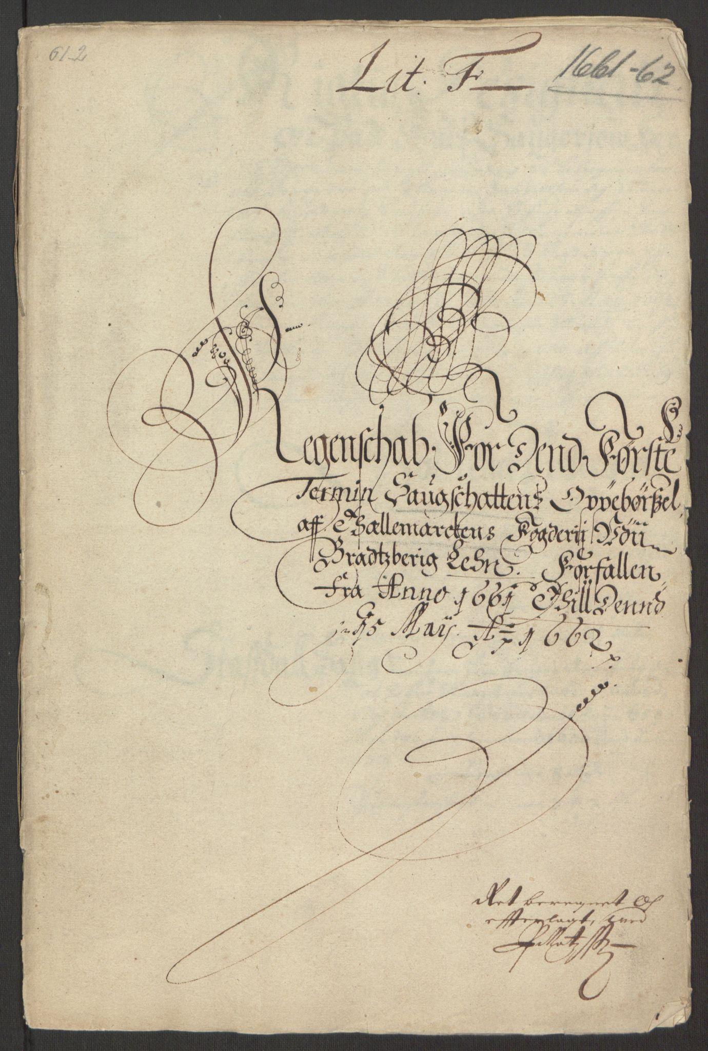 RA, Rentekammeret inntil 1814, Reviderte regnskaper, Fogderegnskap, R35/L2054: Fogderegnskap Øvre og Nedre Telemark, 1662-1663, s. 231