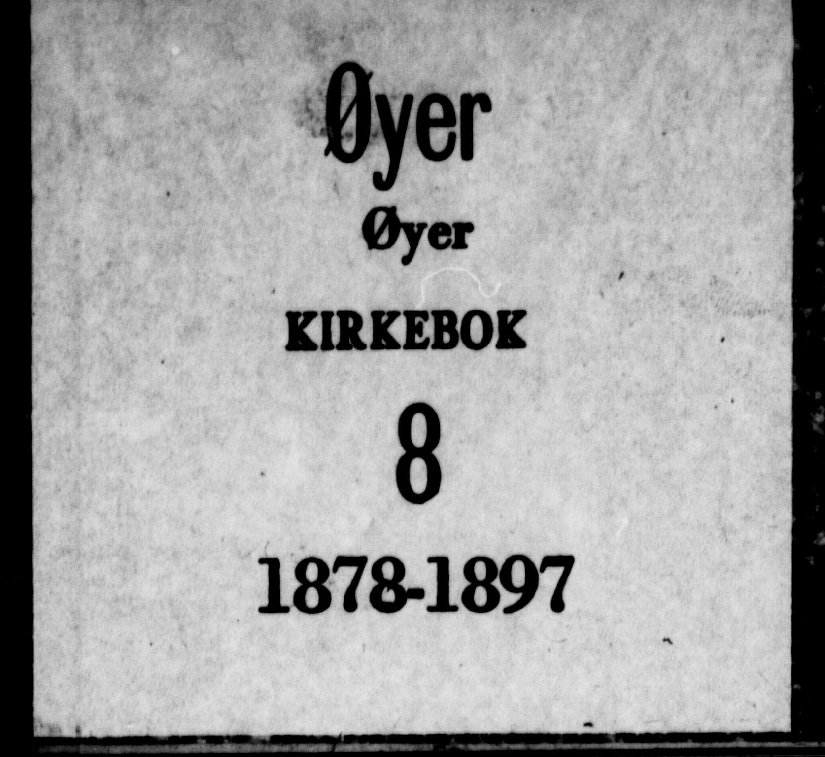 SAH, Øyer prestekontor, Ministerialbok nr. 8, 1878-1897