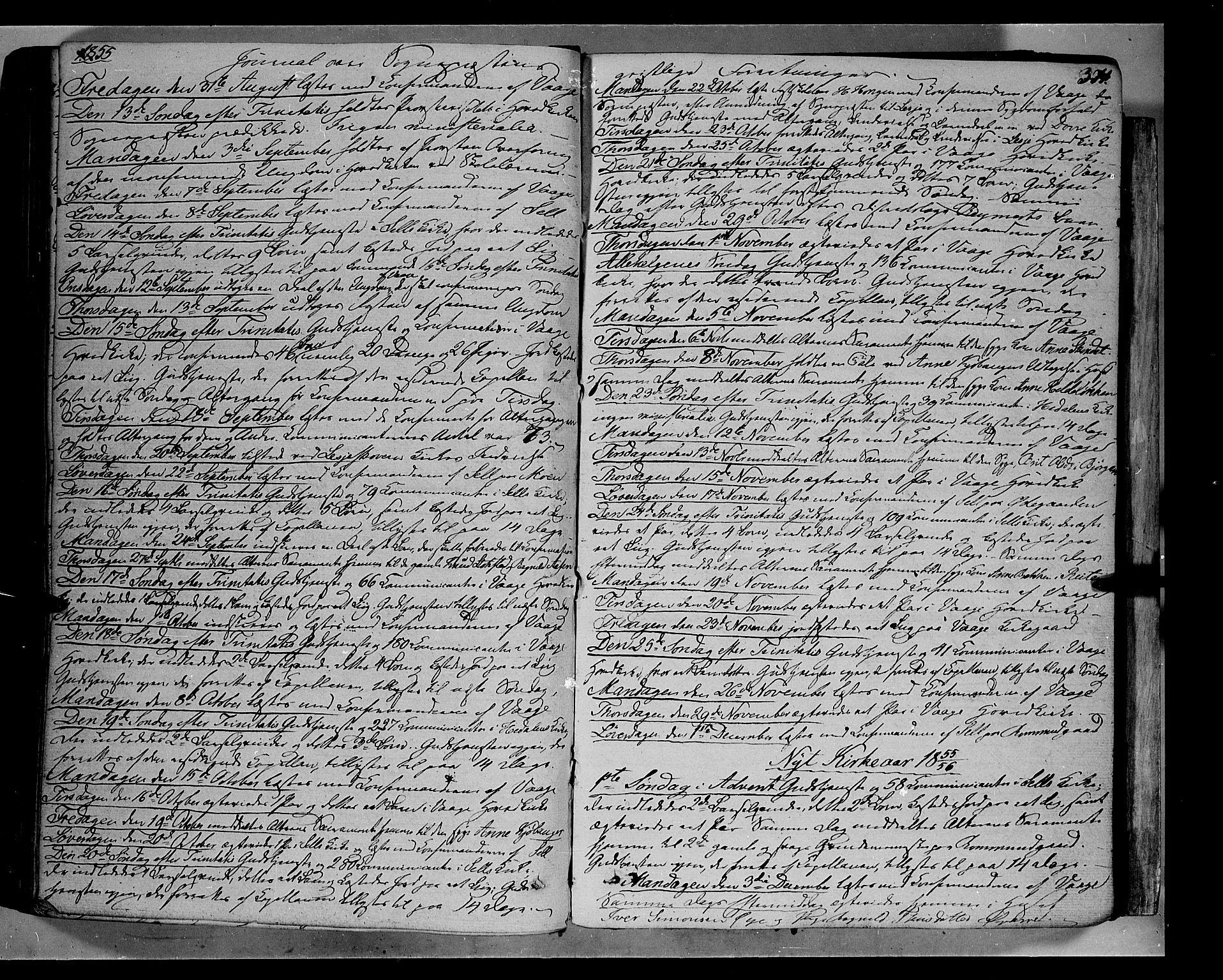 SAH, Vågå prestekontor, Ministerialbok nr. 5 /1, 1842-1856, s. 371