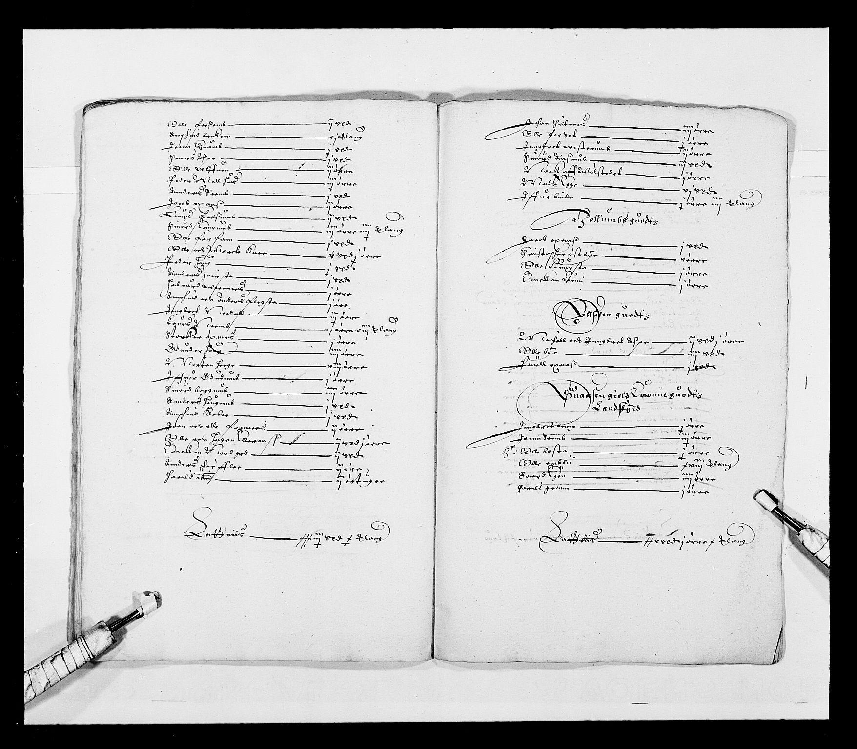 RA, Stattholderembetet 1572-1771, Ek/L0028: Jordebøker 1633-1658:, 1645-1646, s. 126