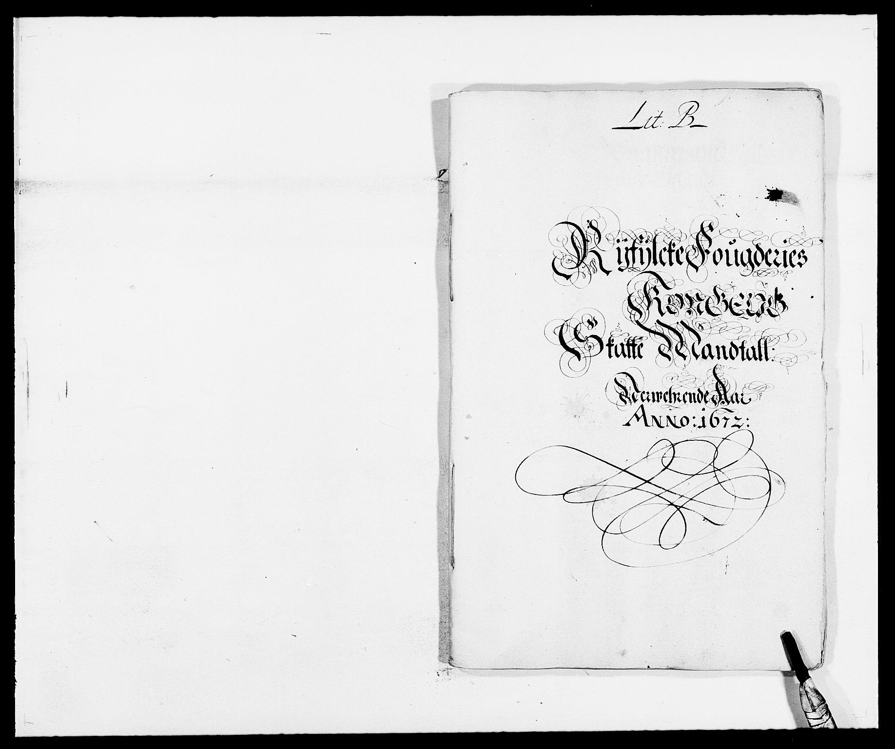 RA, Rentekammeret inntil 1814, Reviderte regnskaper, Fogderegnskap, R47/L2844: Fogderegnskap Ryfylke, 1672-1673, s. 51