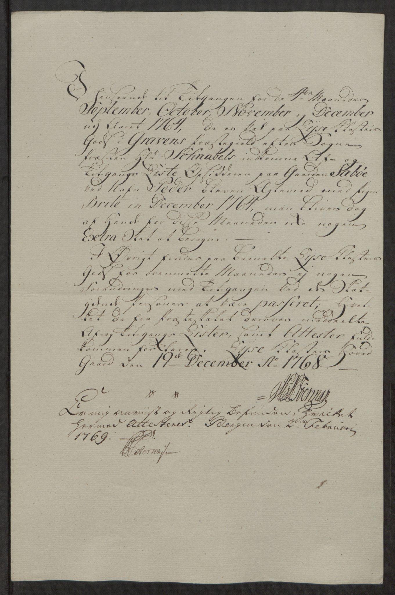 RA, Rentekammeret inntil 1814, Reviderte regnskaper, Fogderegnskap, R50/L3180: Ekstraskatten Lyse kloster, 1762-1783, s. 111