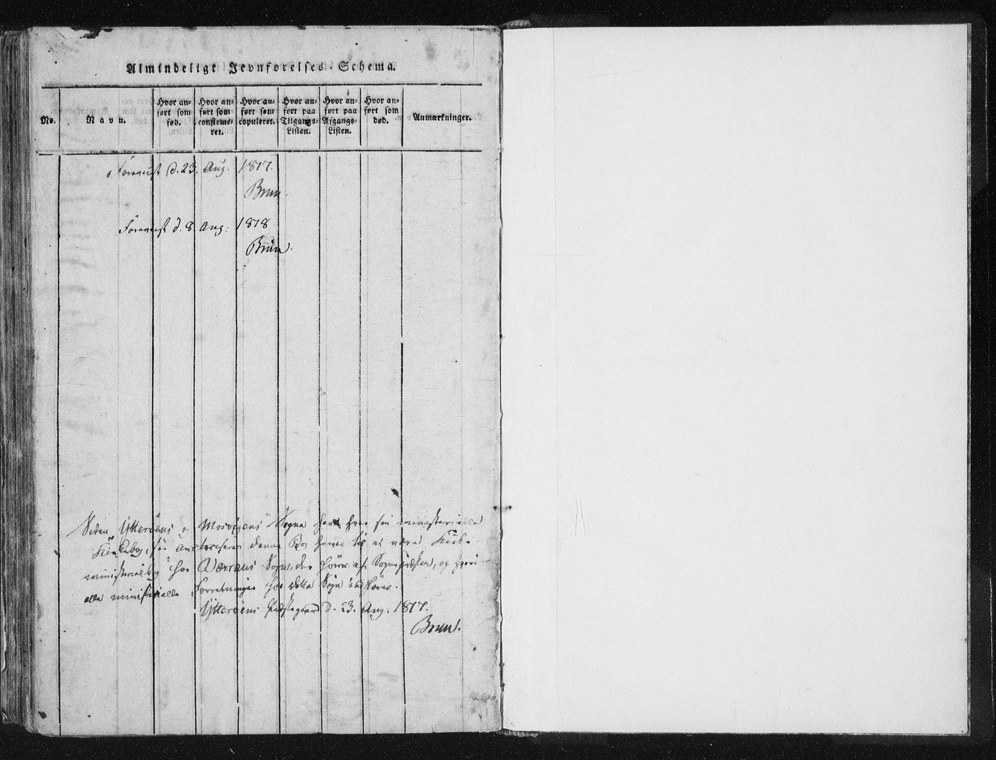 SAT, Ministerialprotokoller, klokkerbøker og fødselsregistre - Nord-Trøndelag, 744/L0417: Ministerialbok nr. 744A01, 1817-1842