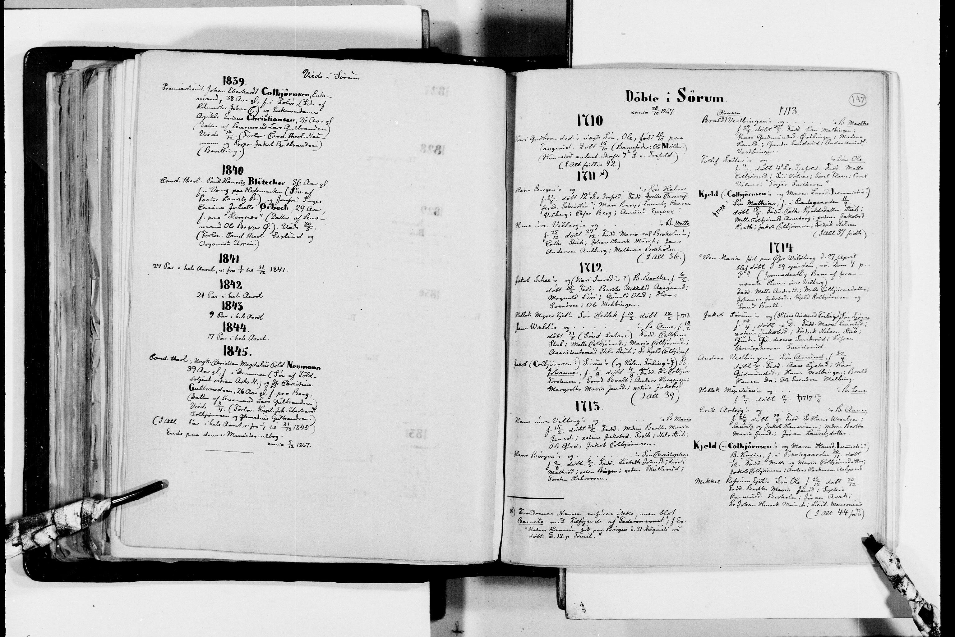 RA, Lassens samlinger, F/Fc, s. 147