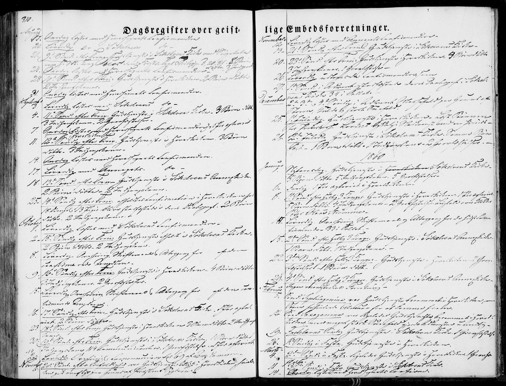 SAT, Ministerialprotokoller, klokkerbøker og fødselsregistre - Møre og Romsdal, 522/L0313: Ministerialbok nr. 522A08, 1852-1862, s. 310