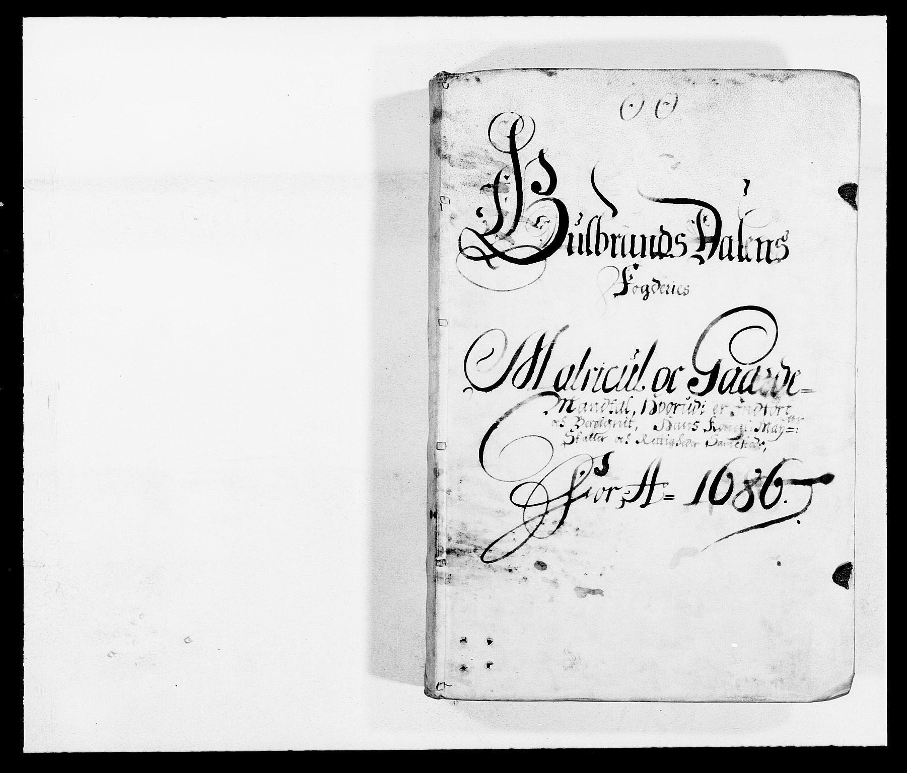 RA, Rentekammeret inntil 1814, Reviderte regnskaper, Fogderegnskap, R17/L1161: Fogderegnskap Gudbrandsdal, 1682-1689, s. 47