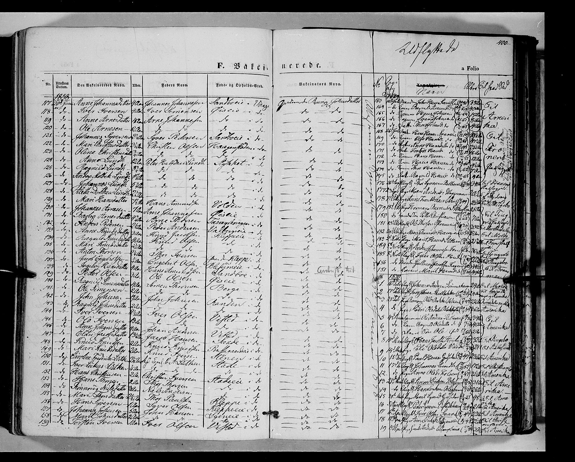 SAH, Vågå prestekontor, Ministerialbok nr. 6 /1, 1856-1872, s. 400