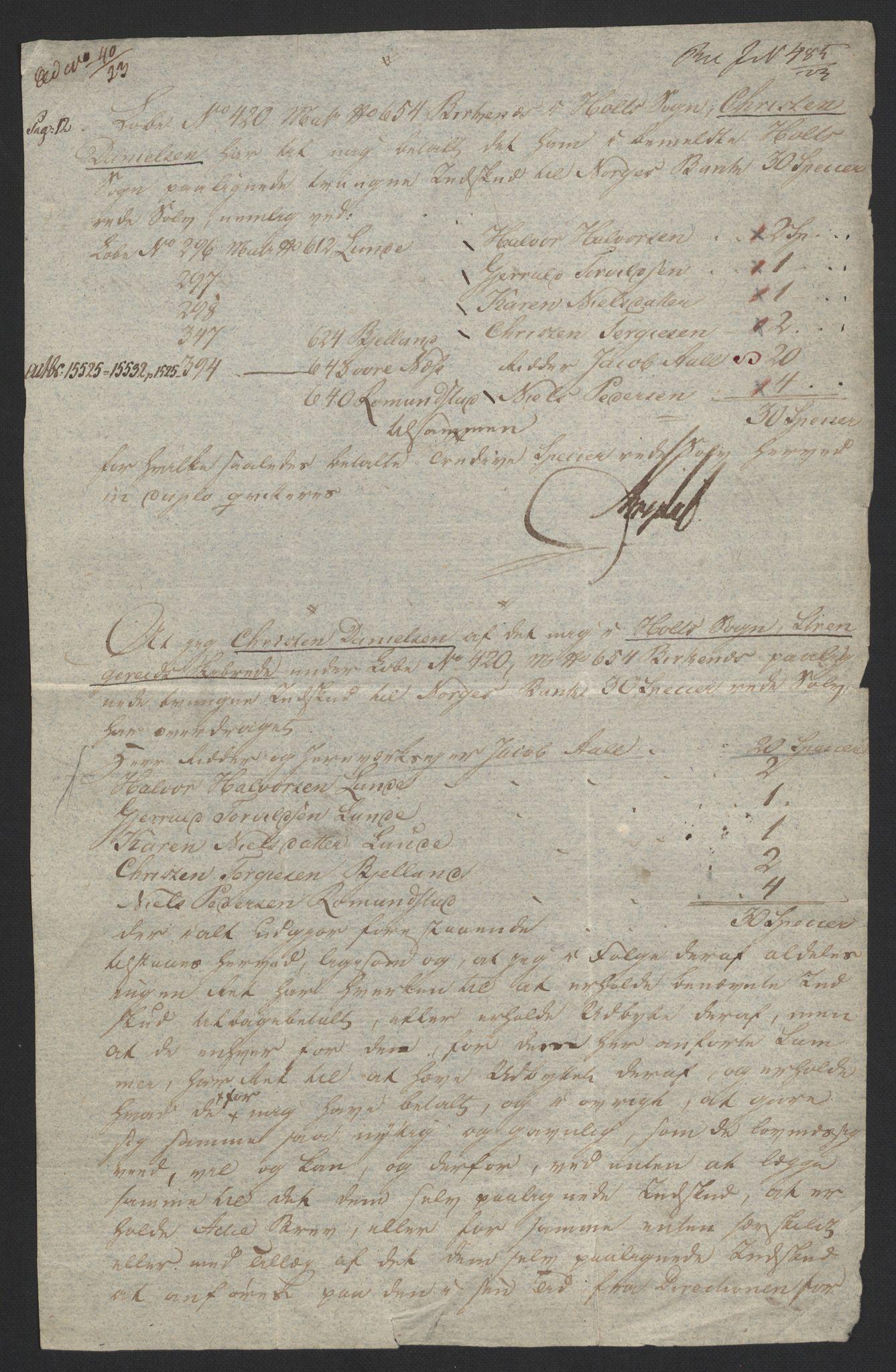 NOBA, Norges Bank/Sølvskatten 1816*, 1817-1823, s. 8