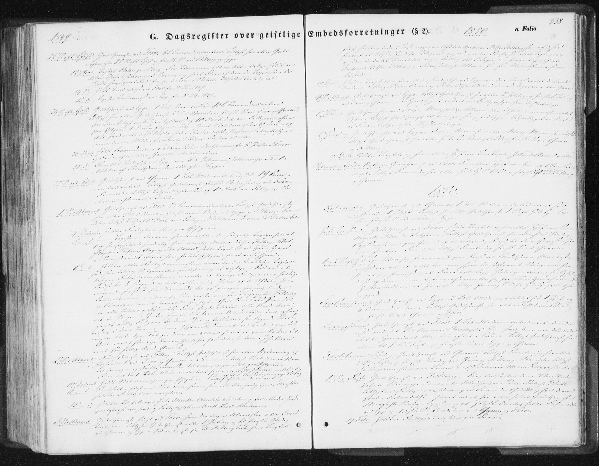 SAT, Ministerialprotokoller, klokkerbøker og fødselsregistre - Nord-Trøndelag, 746/L0446: Ministerialbok nr. 746A05, 1846-1859, s. 338