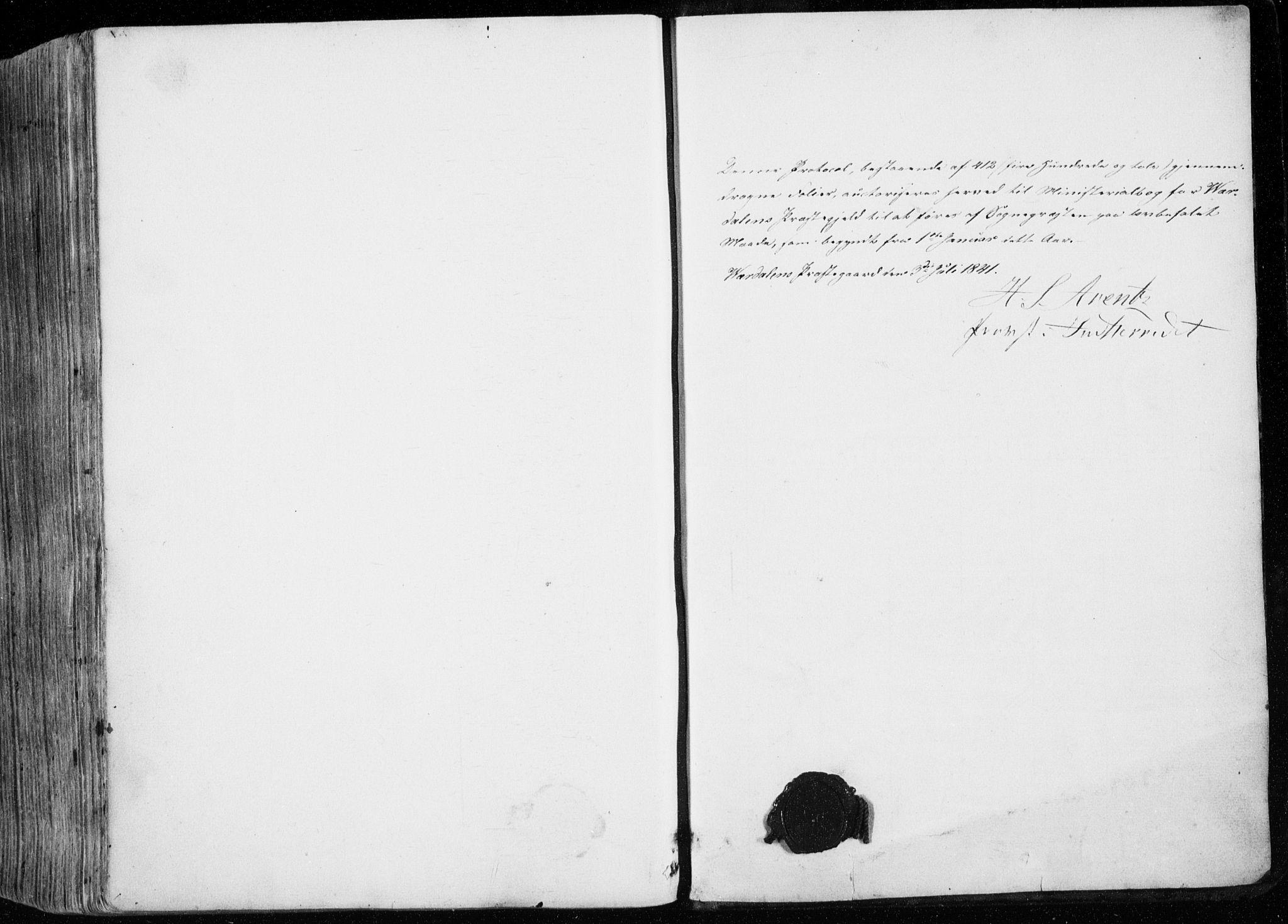 SAT, Ministerialprotokoller, klokkerbøker og fødselsregistre - Nord-Trøndelag, 723/L0239: Ministerialbok nr. 723A08, 1841-1851