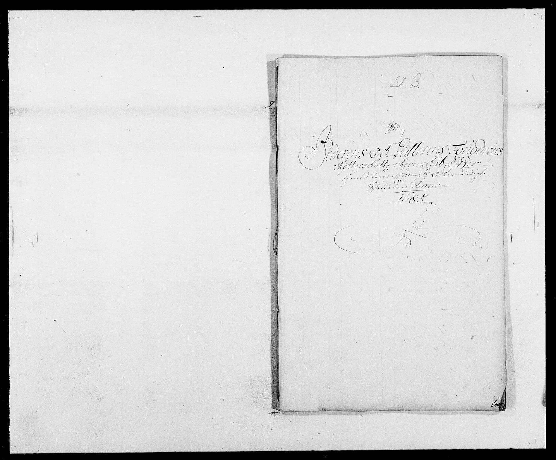 RA, Rentekammeret inntil 1814, Reviderte regnskaper, Fogderegnskap, R46/L2725: Fogderegnskap Jæren og Dalane, 1685, s. 58
