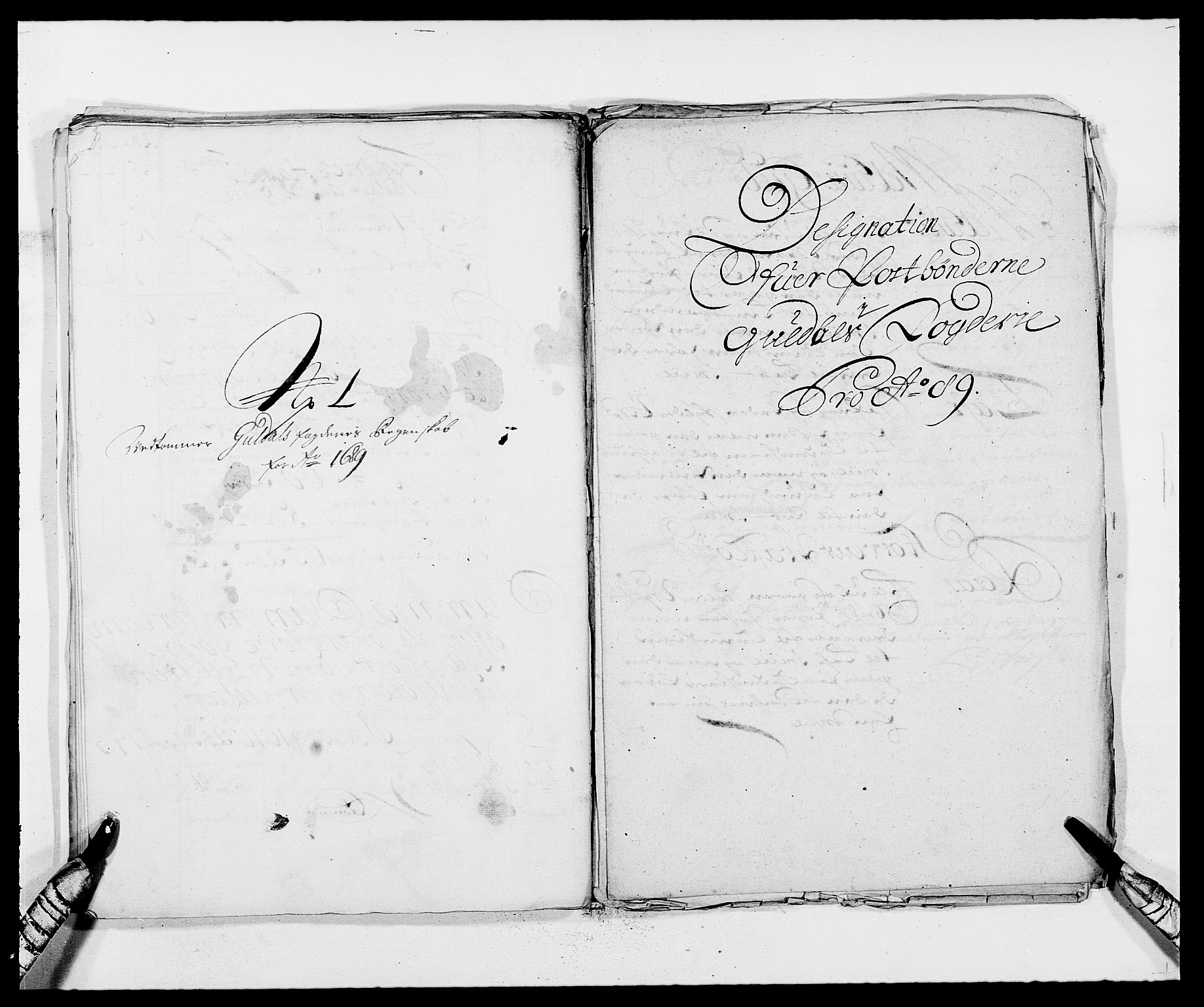RA, Rentekammeret inntil 1814, Reviderte regnskaper, Fogderegnskap, R59/L3940: Fogderegnskap Gauldal, 1689-1690, s. 167