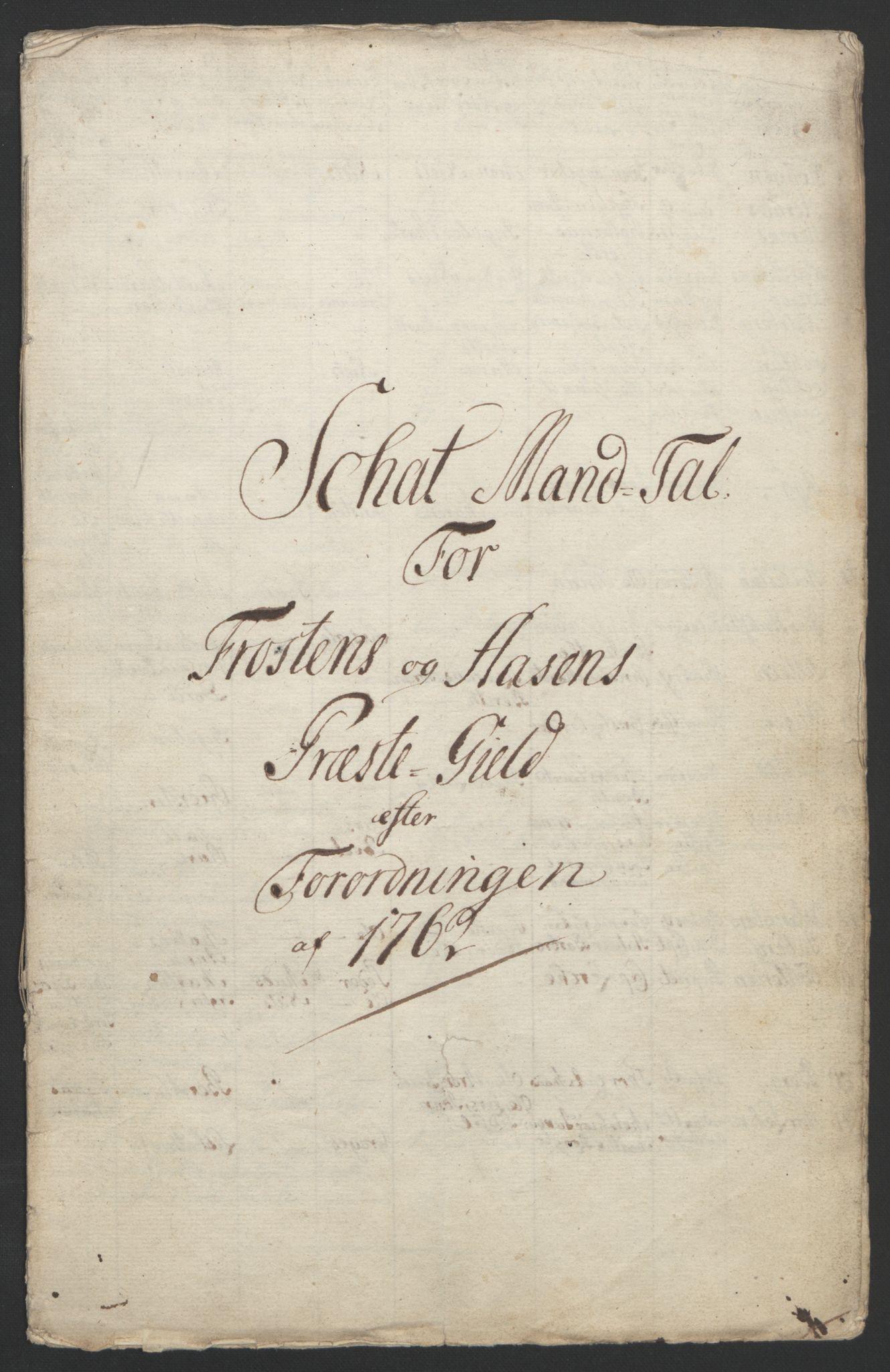 RA, Rentekammeret inntil 1814, Reviderte regnskaper, Fogderegnskap, R62/L4303: Ekstraskatten Stjørdal og Verdal, 1762-1763, s. 180