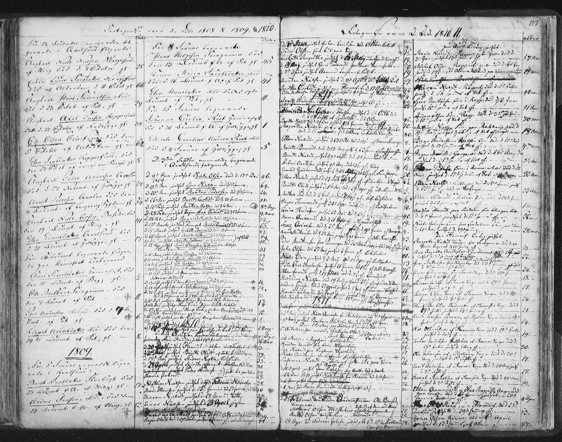 SATØ, Hammerfest sokneprestkontor, H/Ha/L0002.kirke: Ministerialbok nr. 2, 1751-1821, s. 187